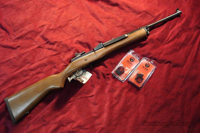 RUGER MINI 14 BLUE RANCH 5 ROUND NEW   Guns > Rifles > Ruger Rifles > Mini-14 Type