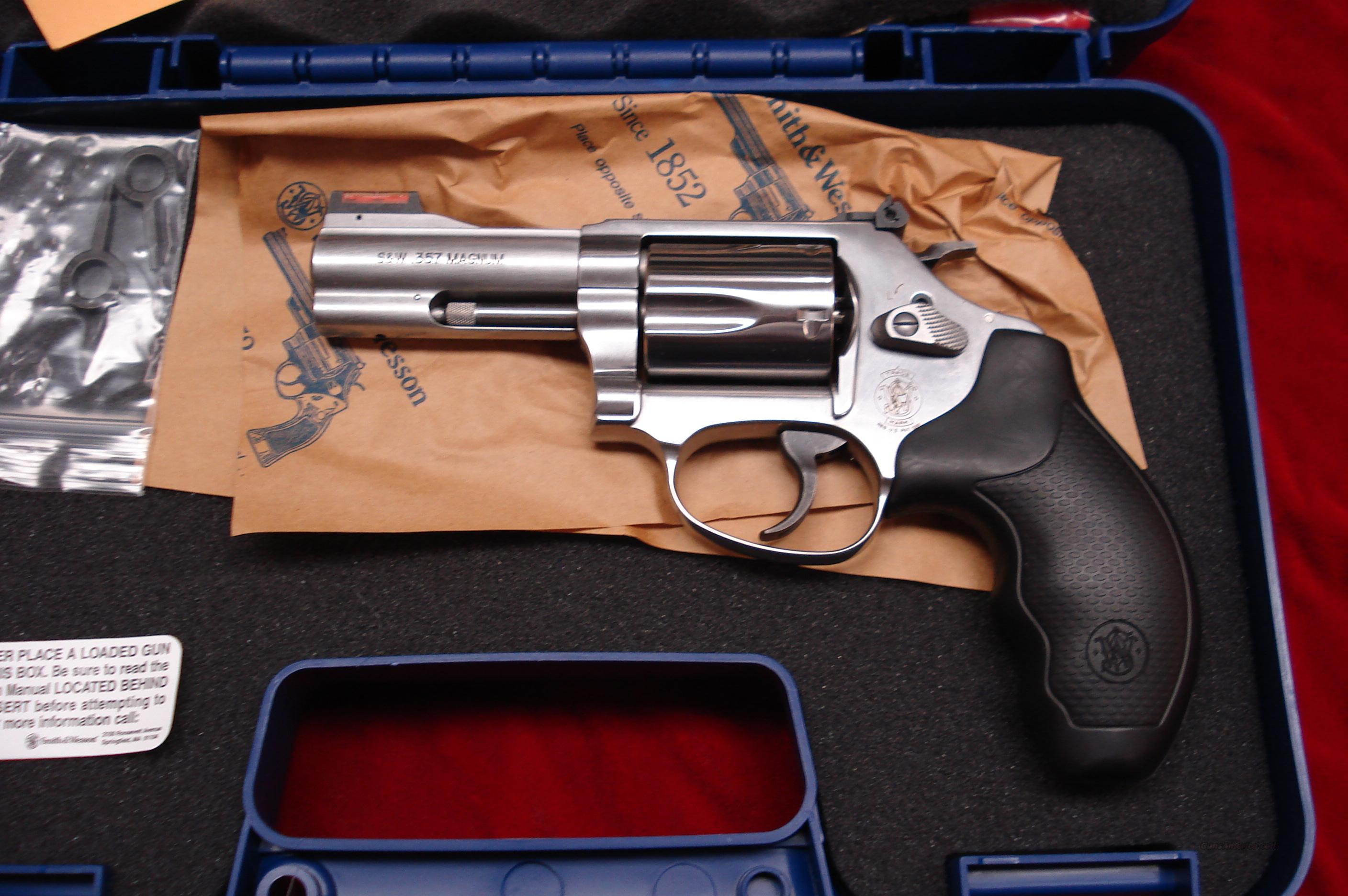 SMITH AND WESSON  MODEL 60 357MAG STAINLESS HIVIS SIGHT NEW  Guns > Pistols > Smith & Wesson Revolvers > Full Frame Revolver