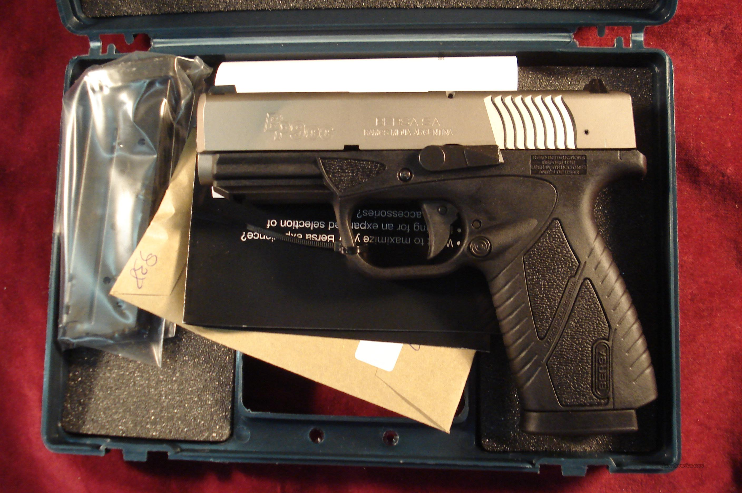 BERSA CONCEALED CARRY POLYMER 9MM NEW  Guns > Pistols > Bersa Pistols
