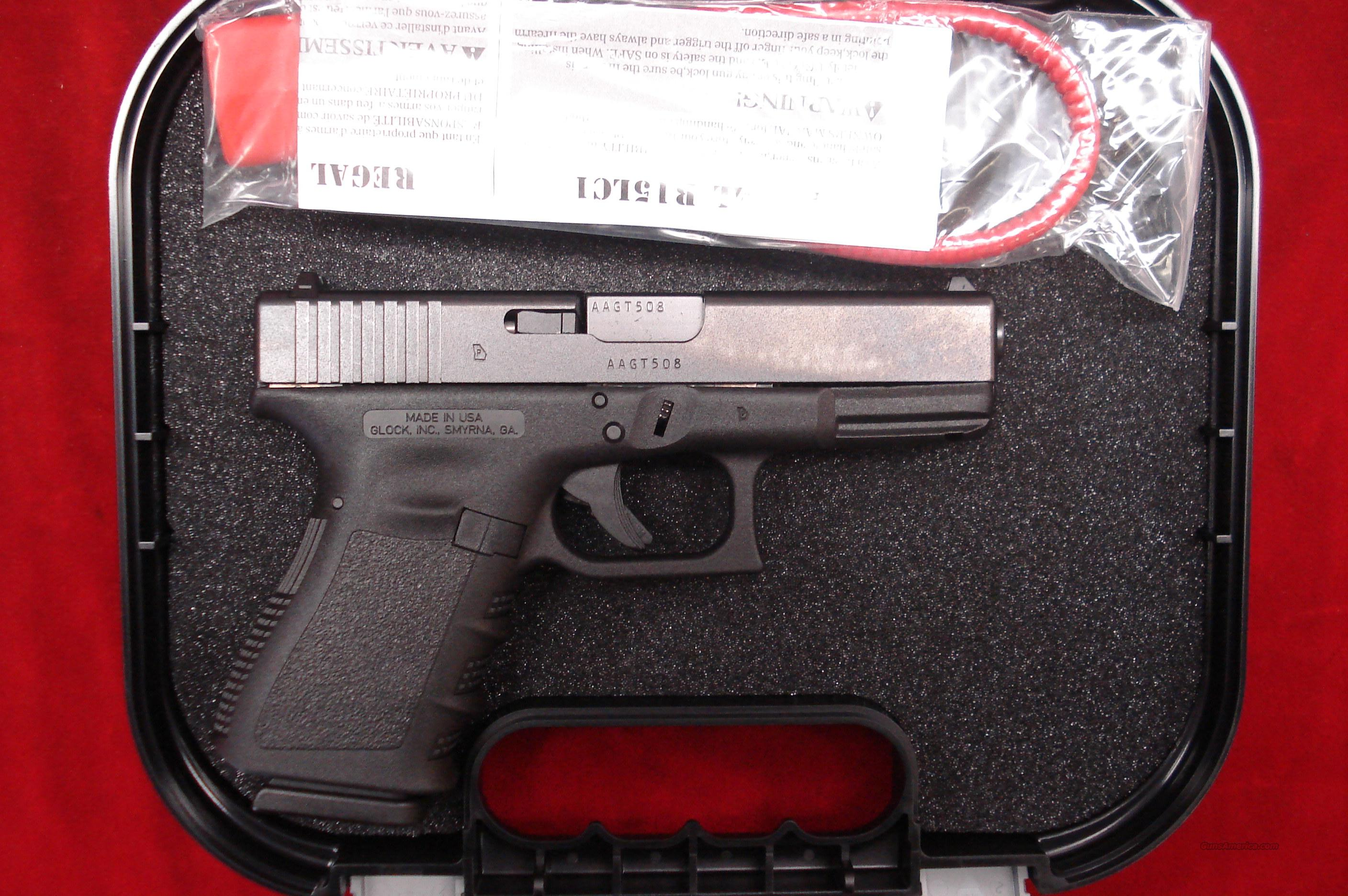 GLOCK USA MODEL 19 GEN 3 9MM W/HIGH CAPACITY MAGAZINES NEW  Guns > Pistols > Glock Pistols > 19