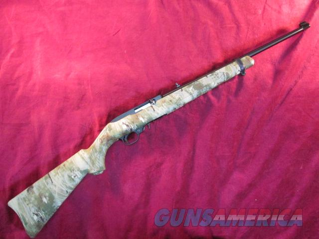 RUGER 10/22 SYNTHETIC WOLF CAMO 22LR BLUED NEW  Guns > Rifles > Ruger Rifles > 10-22