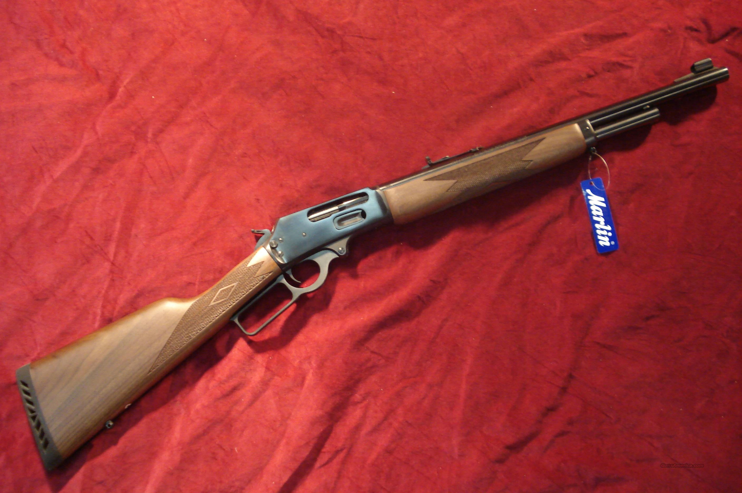 MARLIN 1895 GUIDE GUN 45/70 GOV'T BLUE NEW (1895G)  Guns > Rifles > Marlin Rifles > Modern > Lever Action
