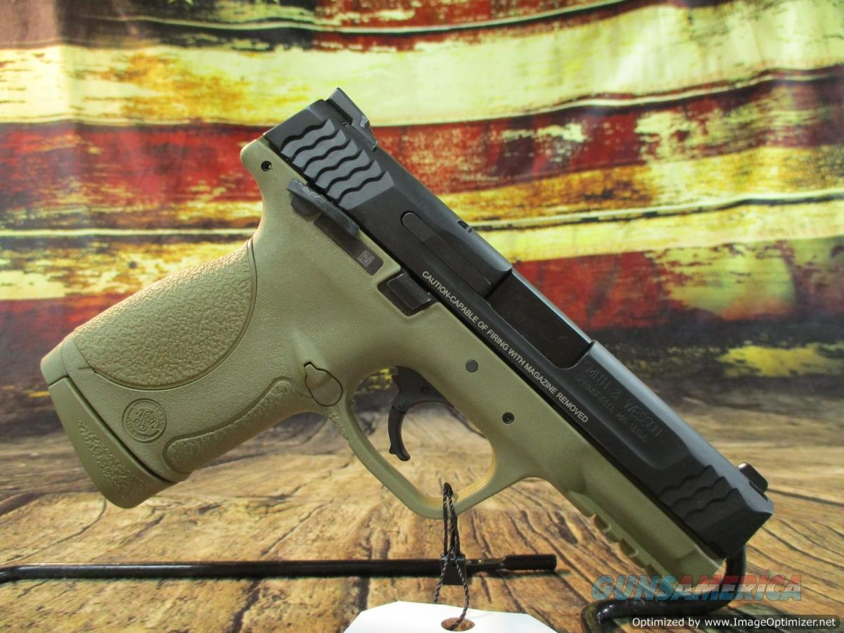 "Smith & Wesson 45 ACP Compact M&P FDE 4"" New **Closeout Price**  Guns > Pistols > Smith & Wesson Pistols - Autos > Polymer Frame"