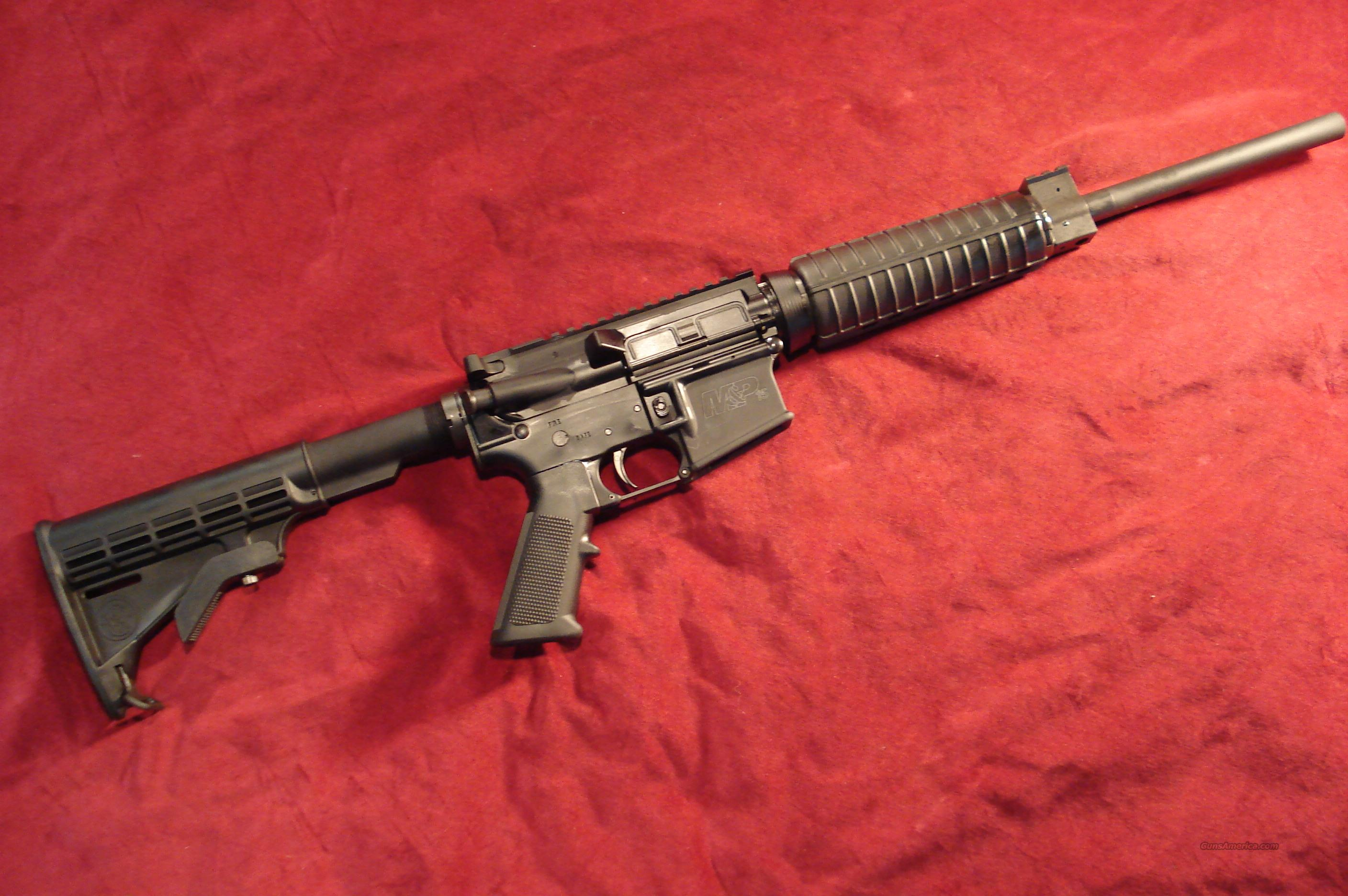 SMITH & WESSON M&P15 O.R.C. ( OPTIC READY CARBINE) NEW    (CT NY MA NJ MD LEGAL)  Guns > Rifles > AR-15 Rifles - Small Manufacturers > Complete Rifle