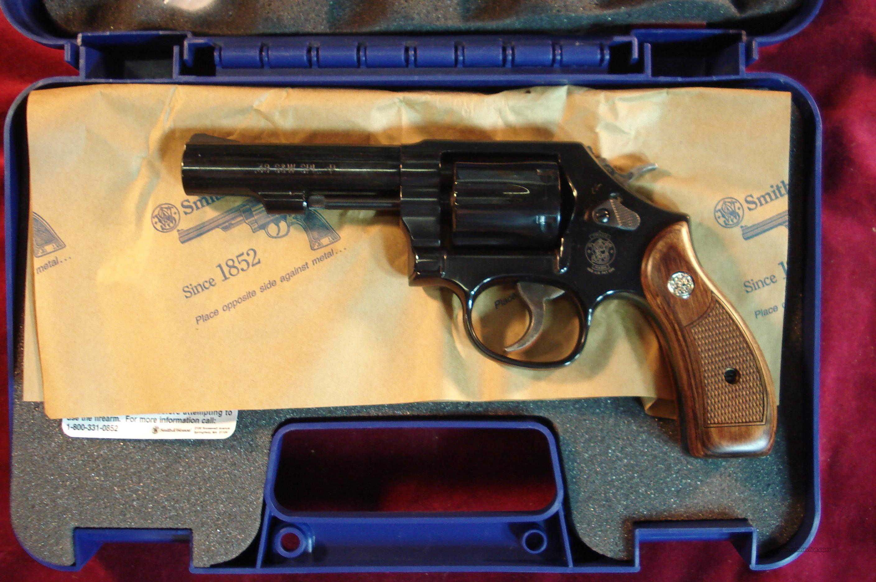 "SMITH AND WESSON MODEL 10 CLASSIC  4"" BARREL 38SPL. BLUE NEW   Guns > Pistols > Smith & Wesson Revolvers > Model 10"