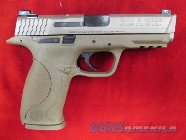 SMITH AND WESSON M&P VTAC 9MM FLAT DARK EARTH USED  Guns > Pistols > Smith & Wesson Pistols - Autos > Polymer Frame