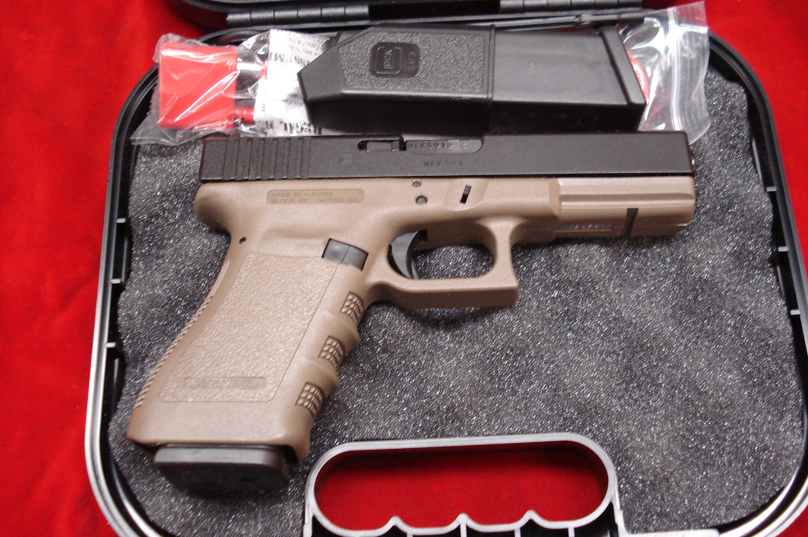 GLOCK MODEL 21OD GREEN 45ACP NEW  Guns > Pistols > Glock Pistols > 20/21