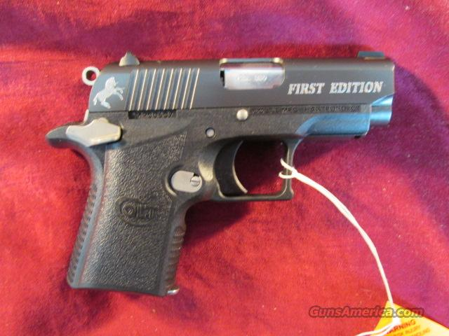 COLT MUSTANG XSP FIRST EDITION 380ACP NEW  Guns > Pistols > Colt Automatic Pistols (.25, .32, & .380 cal)