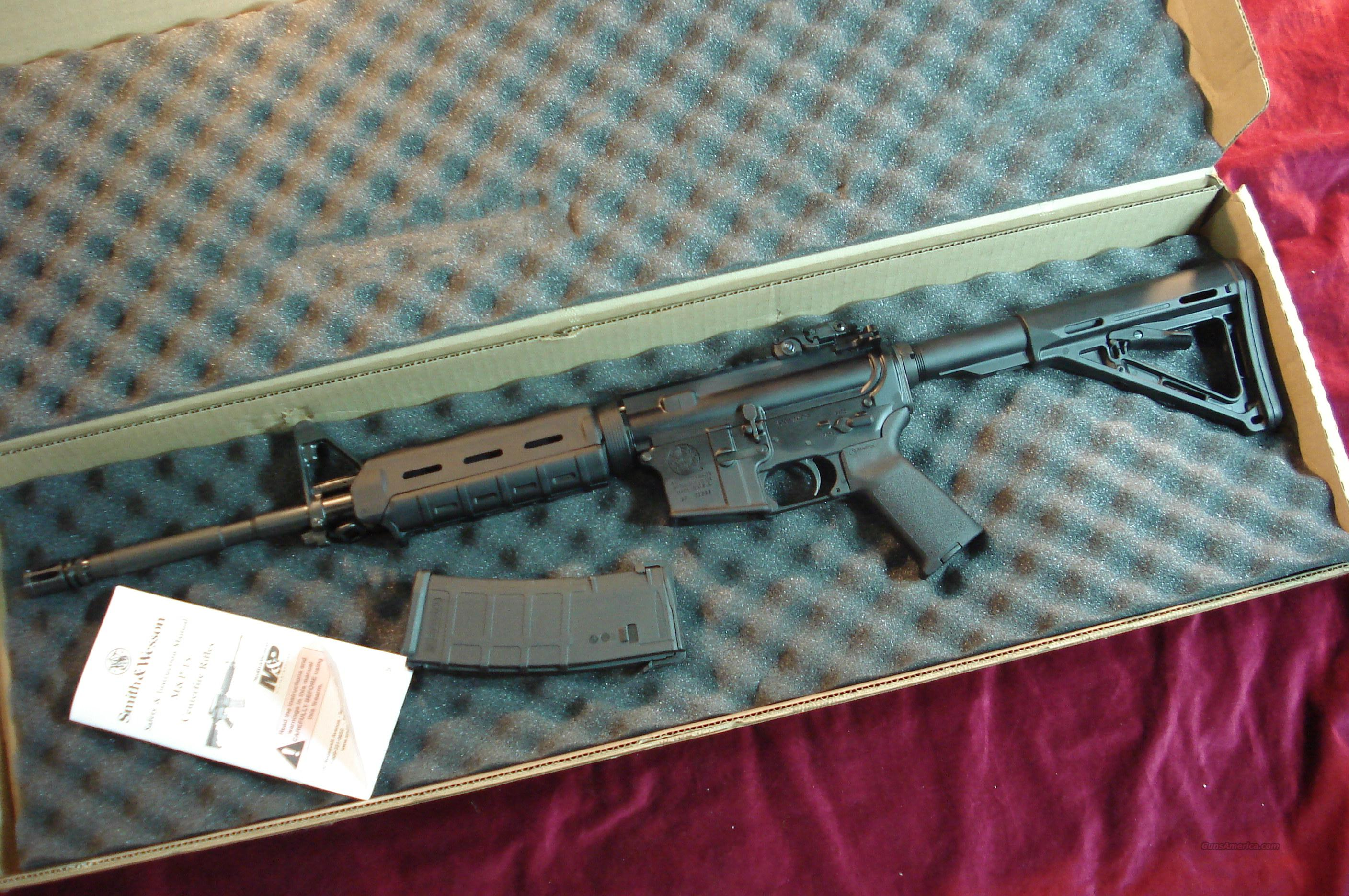 SMITH & WESSON M&P15 MOE (MAGPUL ORIGINAL EQUIPMENT) 5.56/223 CAL. NEW   Guns > Rifles > AR-15 Rifles - Small Manufacturers > Complete Rifle