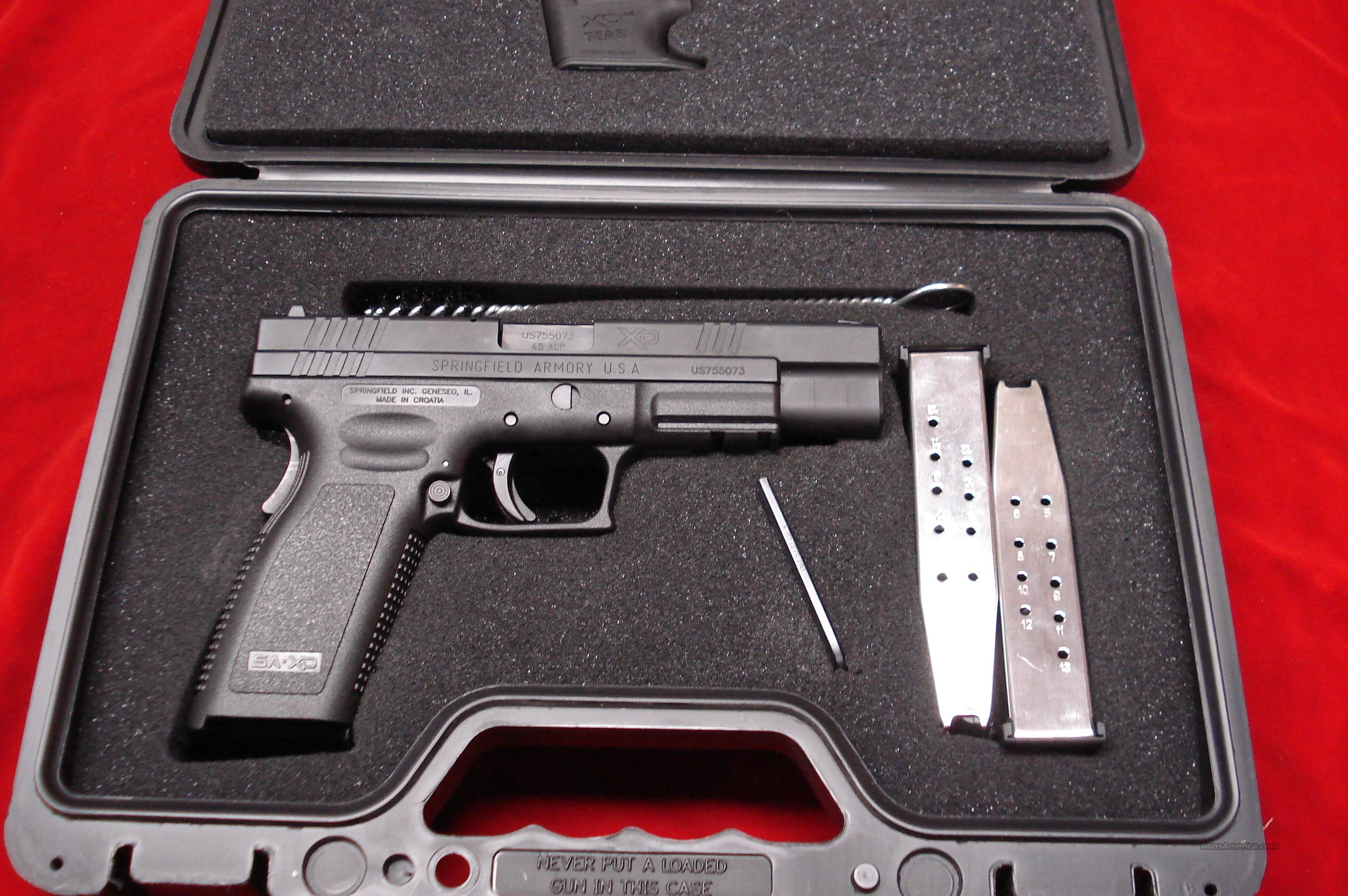 SPRINGFIELD ARMORY XD 45ACP HIGH CAP.TACTICAL PACKAGE LNIB  Guns > Pistols > Springfield Armory Pistols > XD (eXtreme Duty)