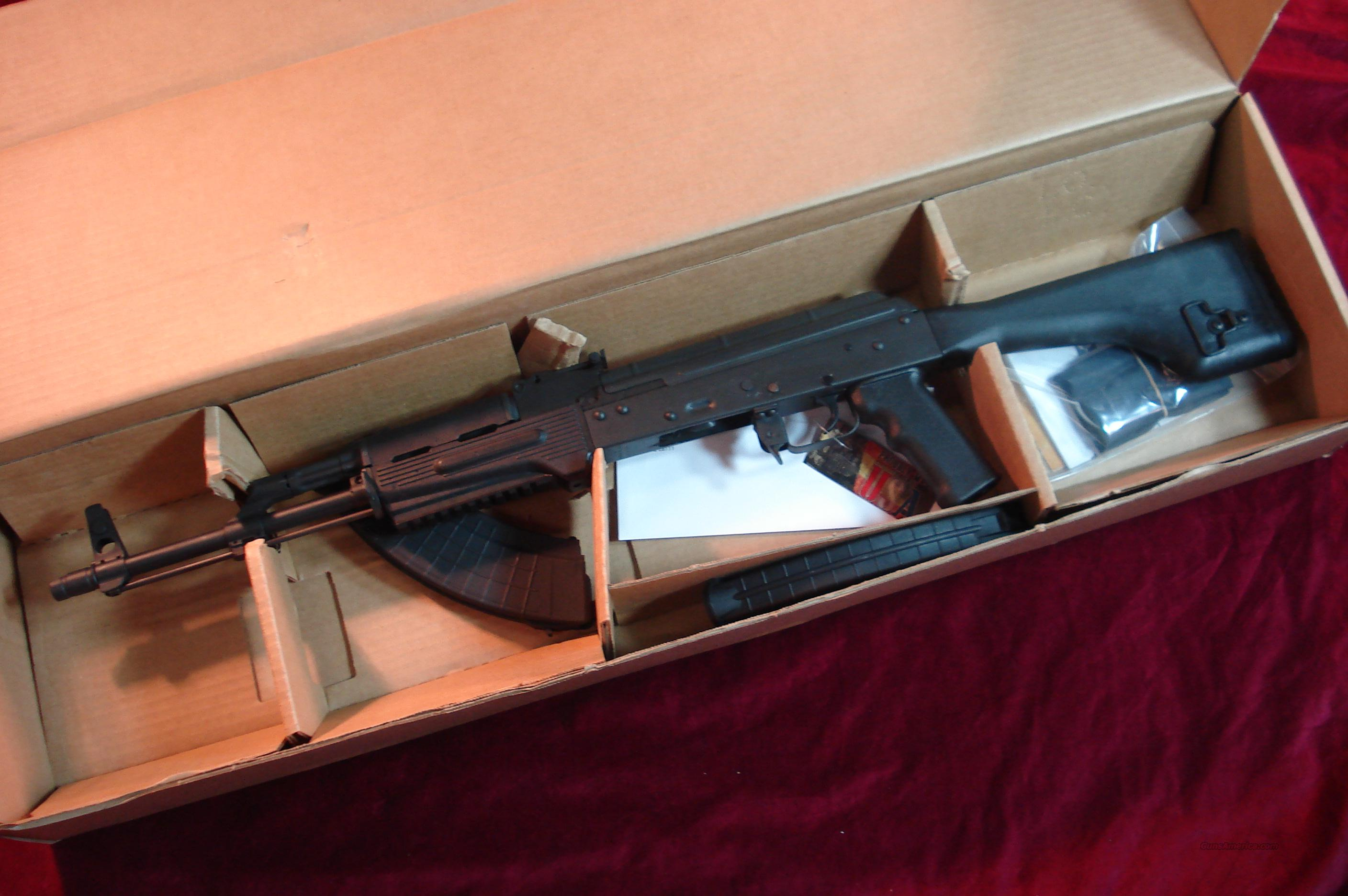 I.O. INC. AK-47 SPORTER 7.62X39CAL. MADE IN USA NEW  Guns > Rifles > AK-47 Rifles (and copies) > Full Stock
