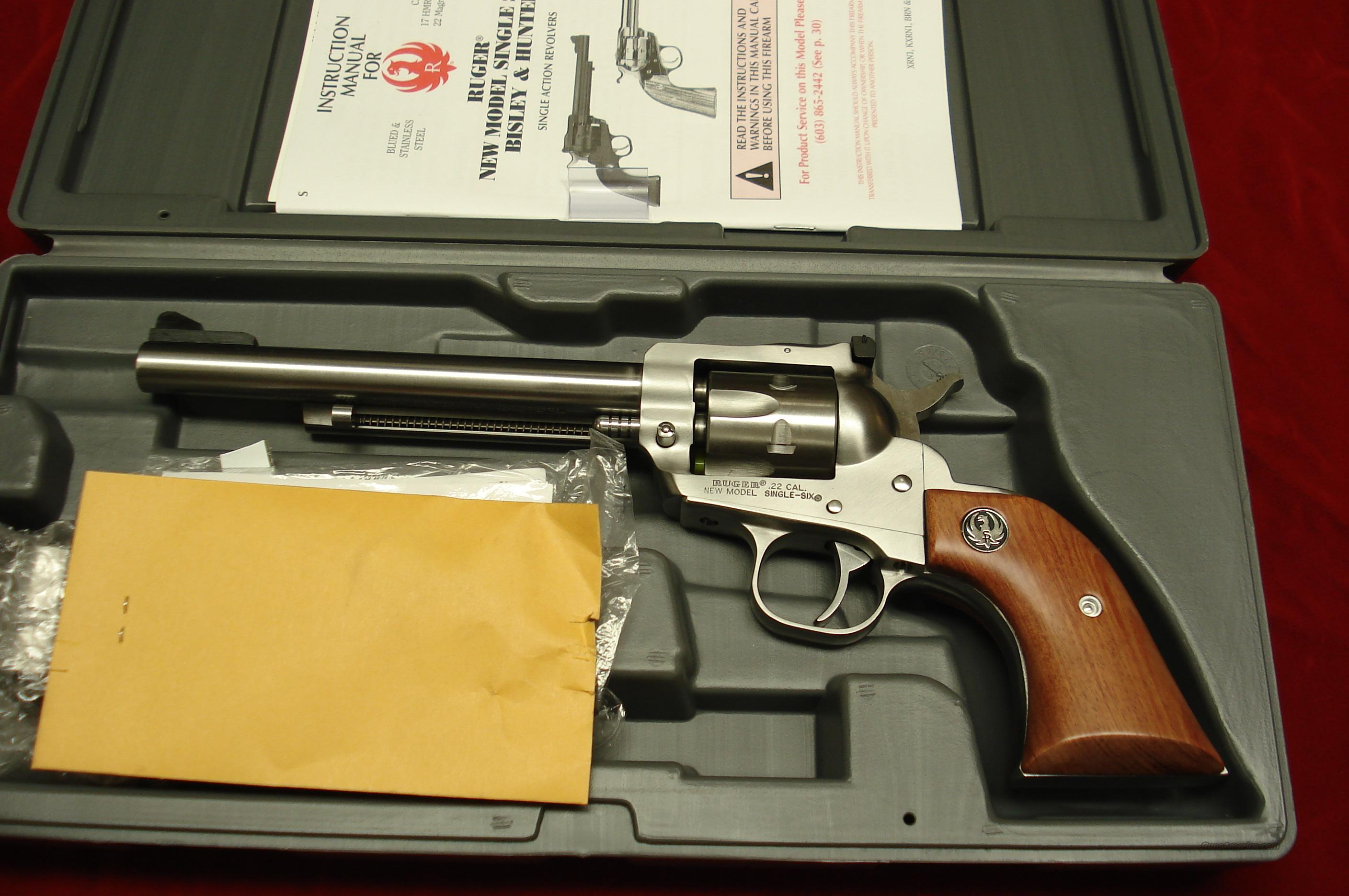 "RUGER SUPER SINGLE-SIX 6.5"" STAINLESS NEW  (KNR-6)  Guns > Pistols > Ruger Single Action Revolvers > Single Six Type"