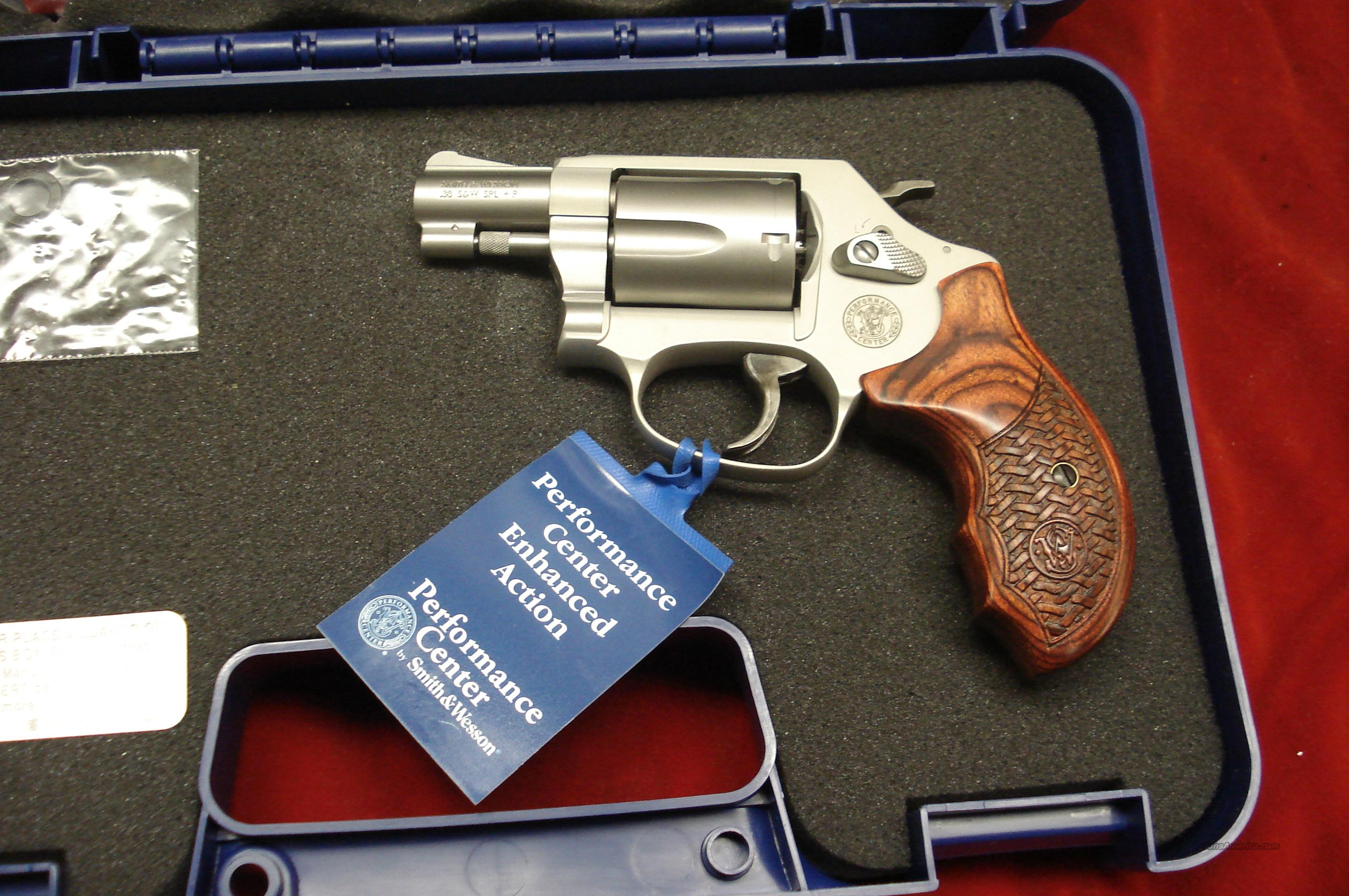 SMITH AND WESSON PERFORMANCE CENTER MODEL 637 AIRWEIGHT 38SPL NEW   Guns > Pistols > Smith & Wesson Revolvers > Performance Center