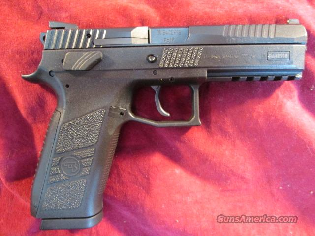 CZ P-09 9MM TWO 19 ROUND MAGS, BLACK NEW  Guns > Pistols > CZ Pistols