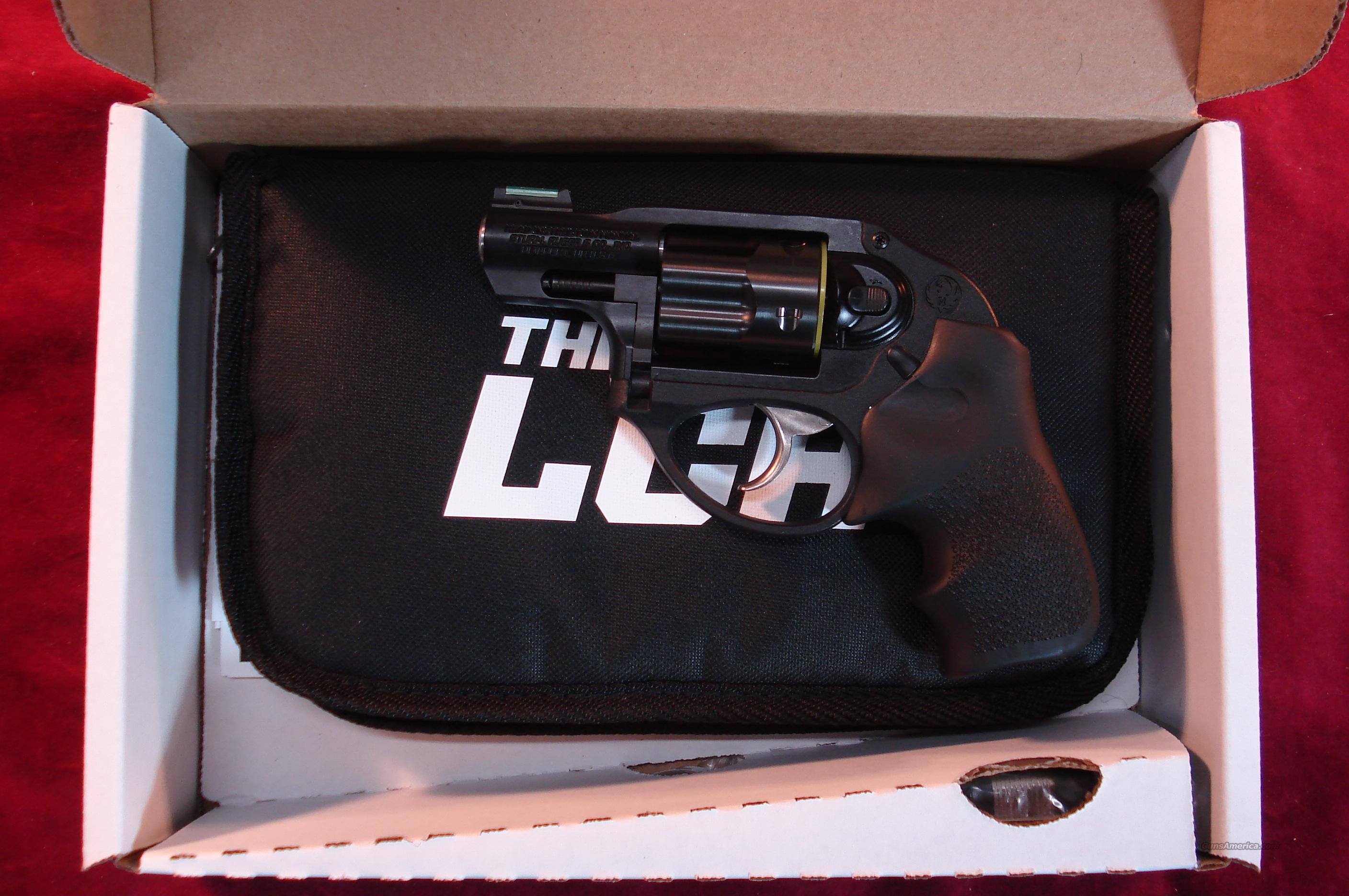 RUGER LCR 38 SPECIAL+P HIGH VIZ SIGHT NEW   Guns > Pistols > Ruger Double Action Revolver > LCR