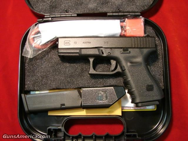 GLOCK MODEL 19 HIGH CAPACITY MAGS NEW  Guns > Pistols > Glock Pistols > 19