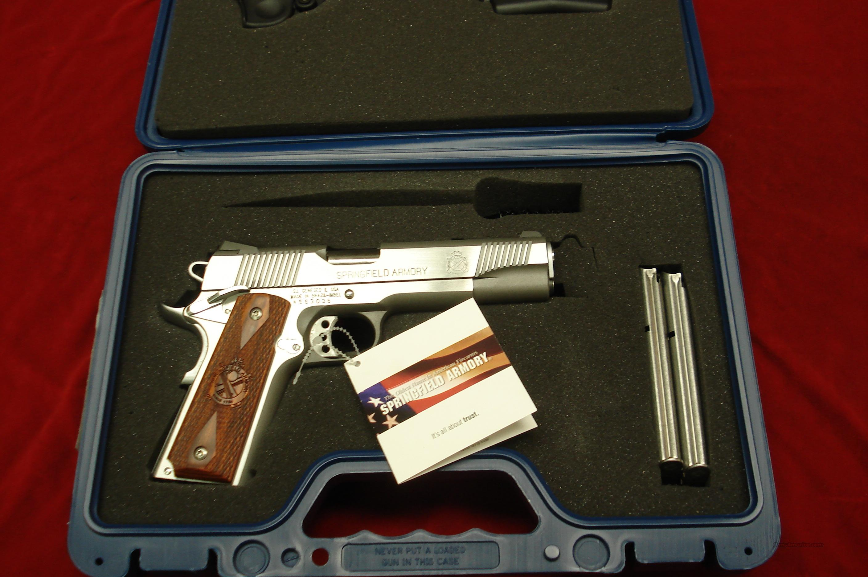 SPRINGFIELD ARMORY 9MM STAINLESS LOADED (PX9130LP) NEW  Guns > Pistols > Springfield Armory Pistols > 1911 Type