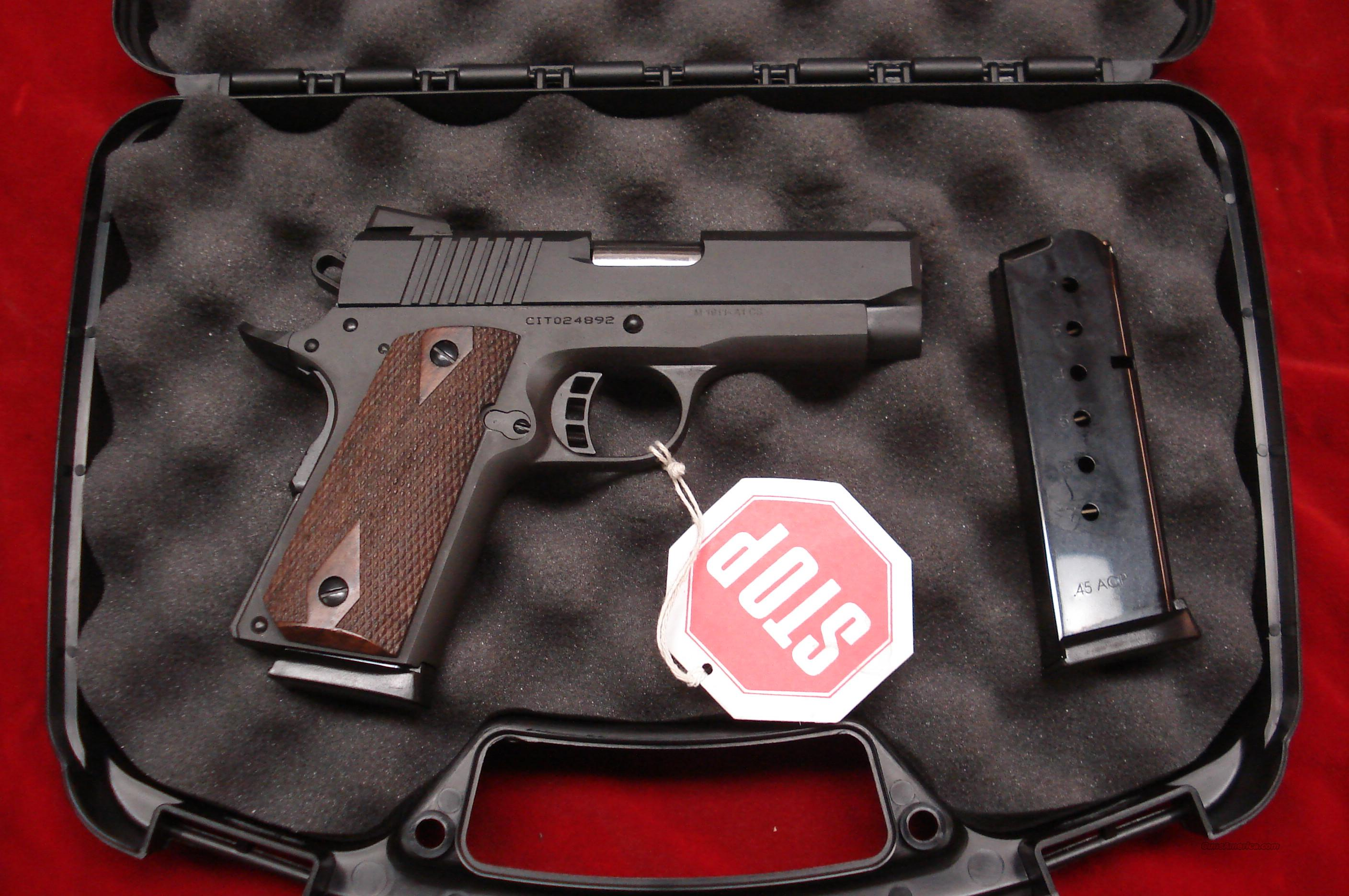 ARMSCOR PRECISION CITADEL COMPACT 45ACP PARKERIZED NEW  Guns > Pistols > 1911 Pistol Copies (non-Colt)