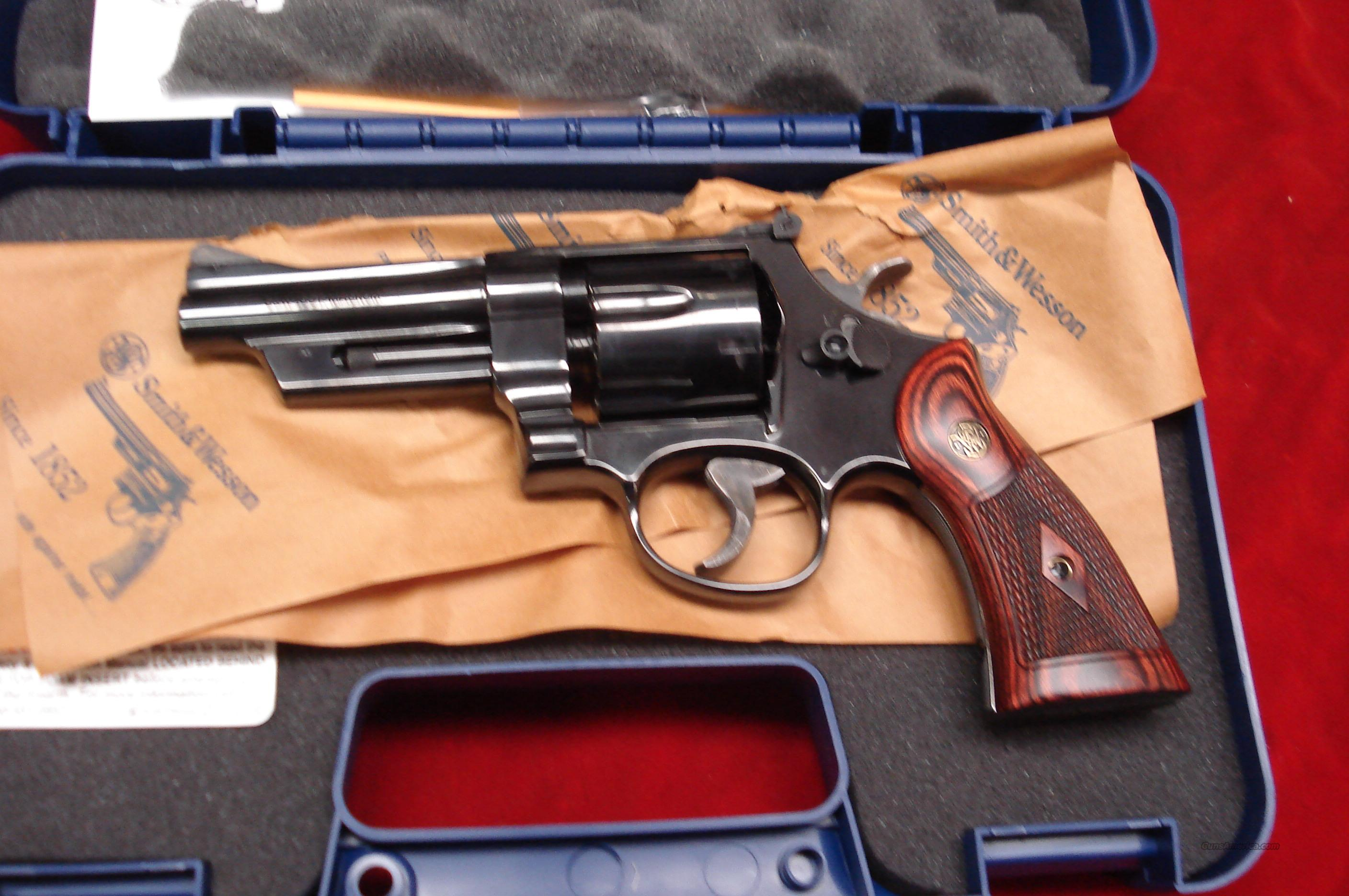 "SMITH AND WESSON MODEL 27 BLUE 357MAG 4"" NEW   (150339)   Guns > Pistols > Smith & Wesson Revolvers > Full Frame Revolver"