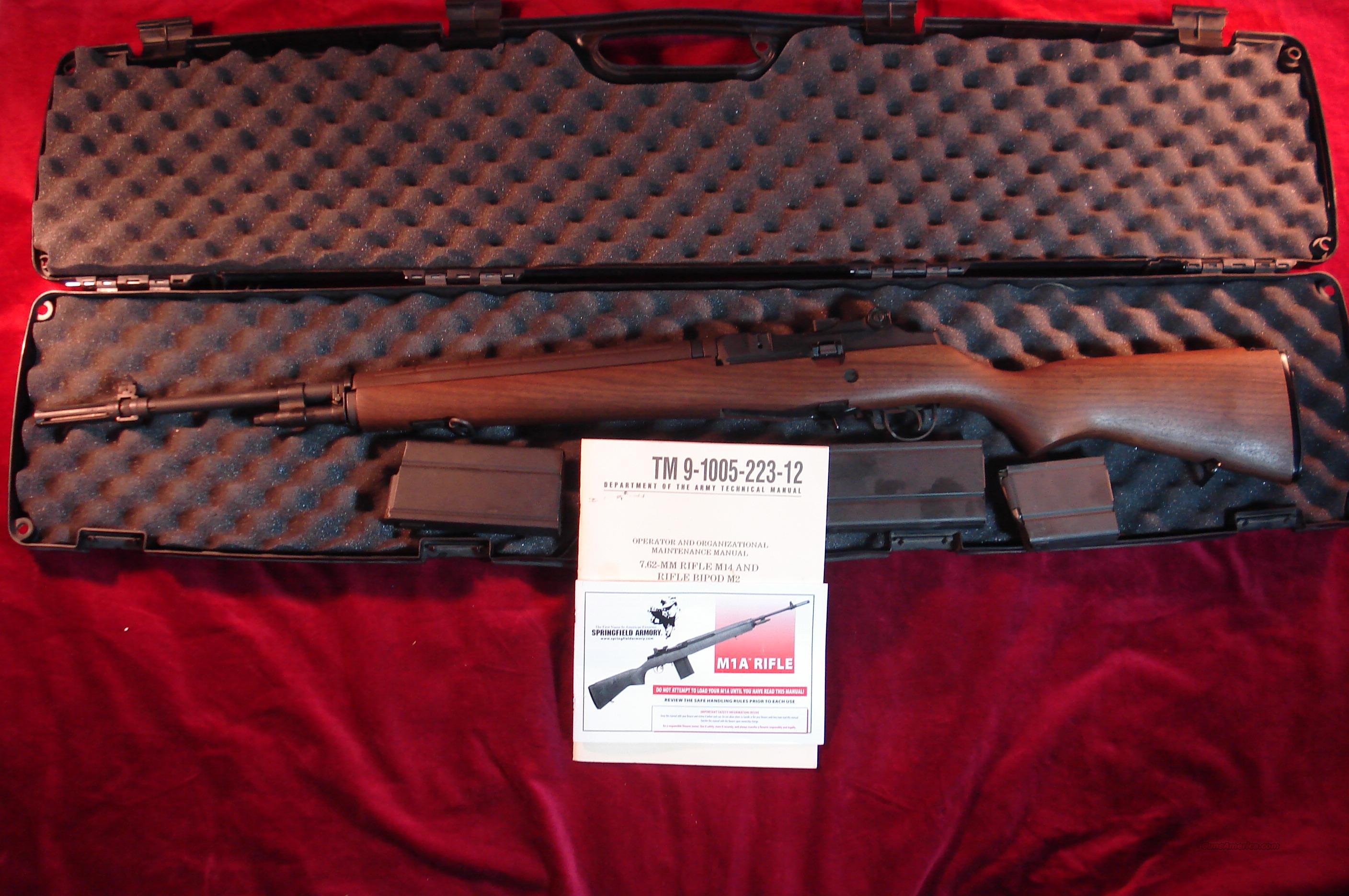 SPRINGFIELD M1A NATIONAL MATCH 308 CAL USED, AS NEW  Guns > Rifles > Springfield Armory Rifles > M1A/M14