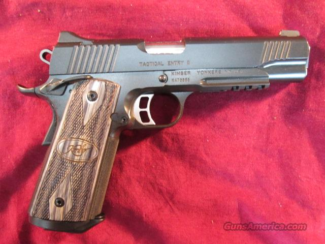 KIMBER TACTICAL ENTRY II 45ACP W/NIGHT SIGHTS NEW  Guns > Pistols > Kimber of America Pistols