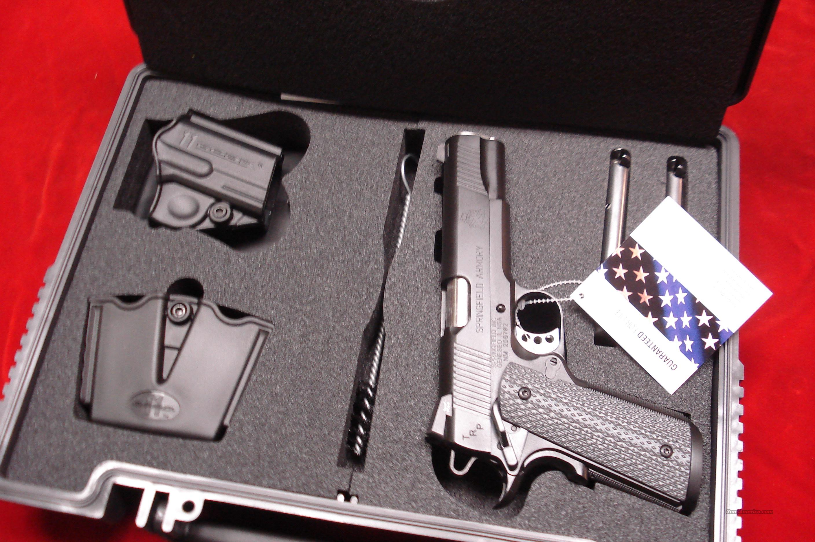 SPRINGFIELD ARMORY TRP (TACTICAL RESPONCE PISTOL) ARMORY KOTE (PC9108LP) NEW  Guns > Pistols > Springfield Armory Pistols > 1911 Type
