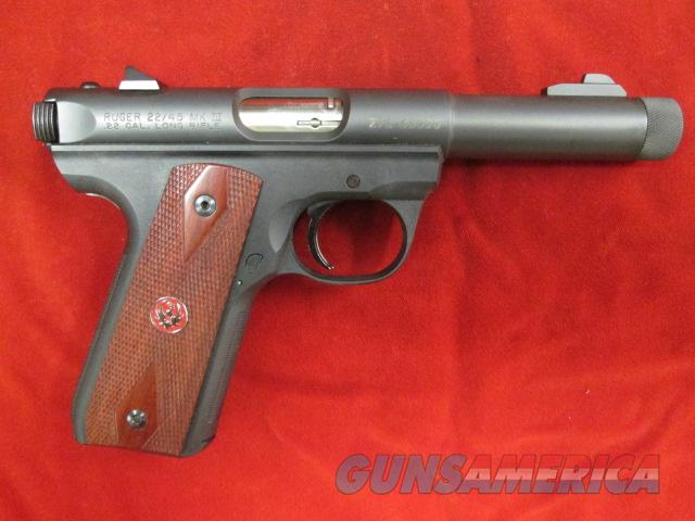 "RUGER 22/45 MKIII 4.5"" THREADED BULL USED  Guns > Pistols > Ruger Semi-Auto Pistols > Mark I & II Family"
