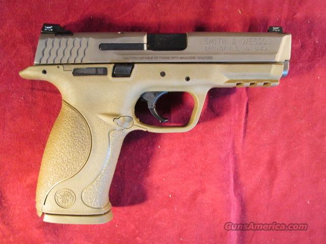 SMITH AND WESSON M&P VTAC 40CAL. FLAT DARK EARTH NEW  Guns > Pistols > Smith & Wesson Pistols - Autos > Polymer Frame