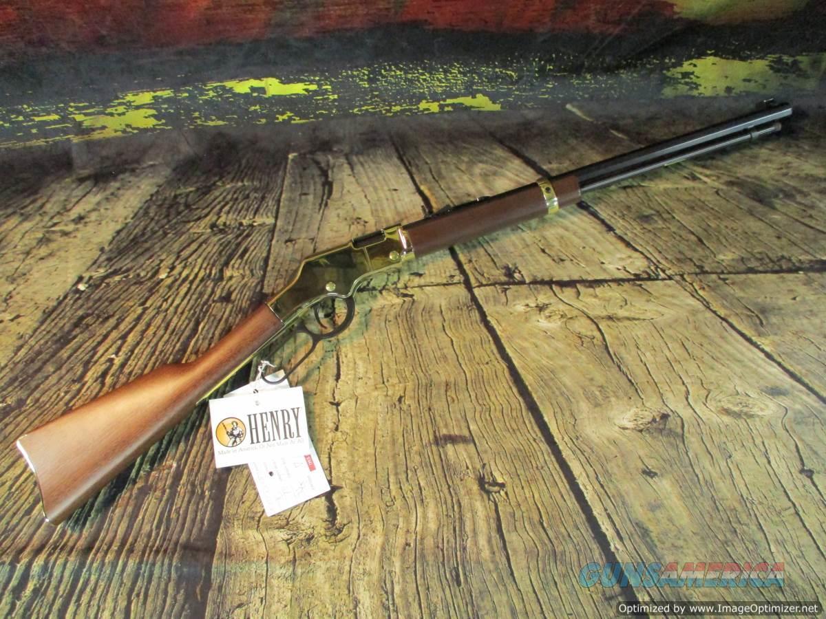 "Henry 17 HMR Golden Boy 20"" New (H004V)  Guns > Rifles > Henry Rifle Company"