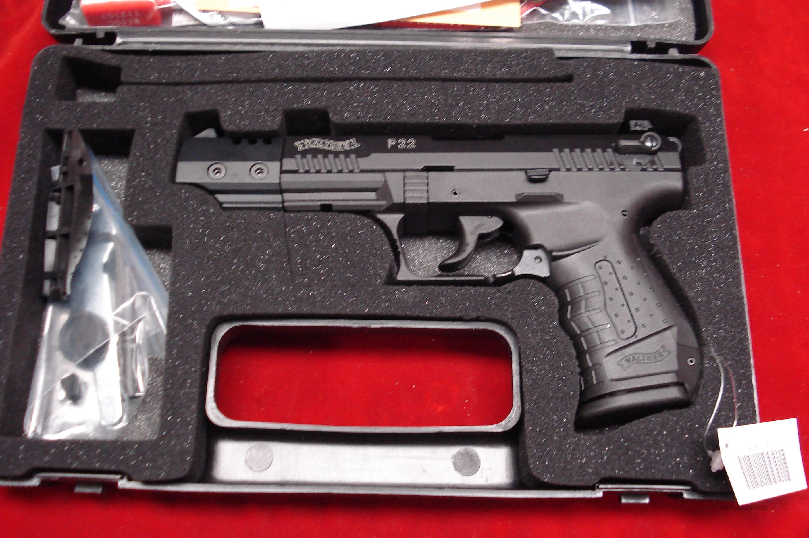 "WALTHER P22 5"" NEW  Guns > Pistols > Walther Pistols > Post WWII > Target Pistols"