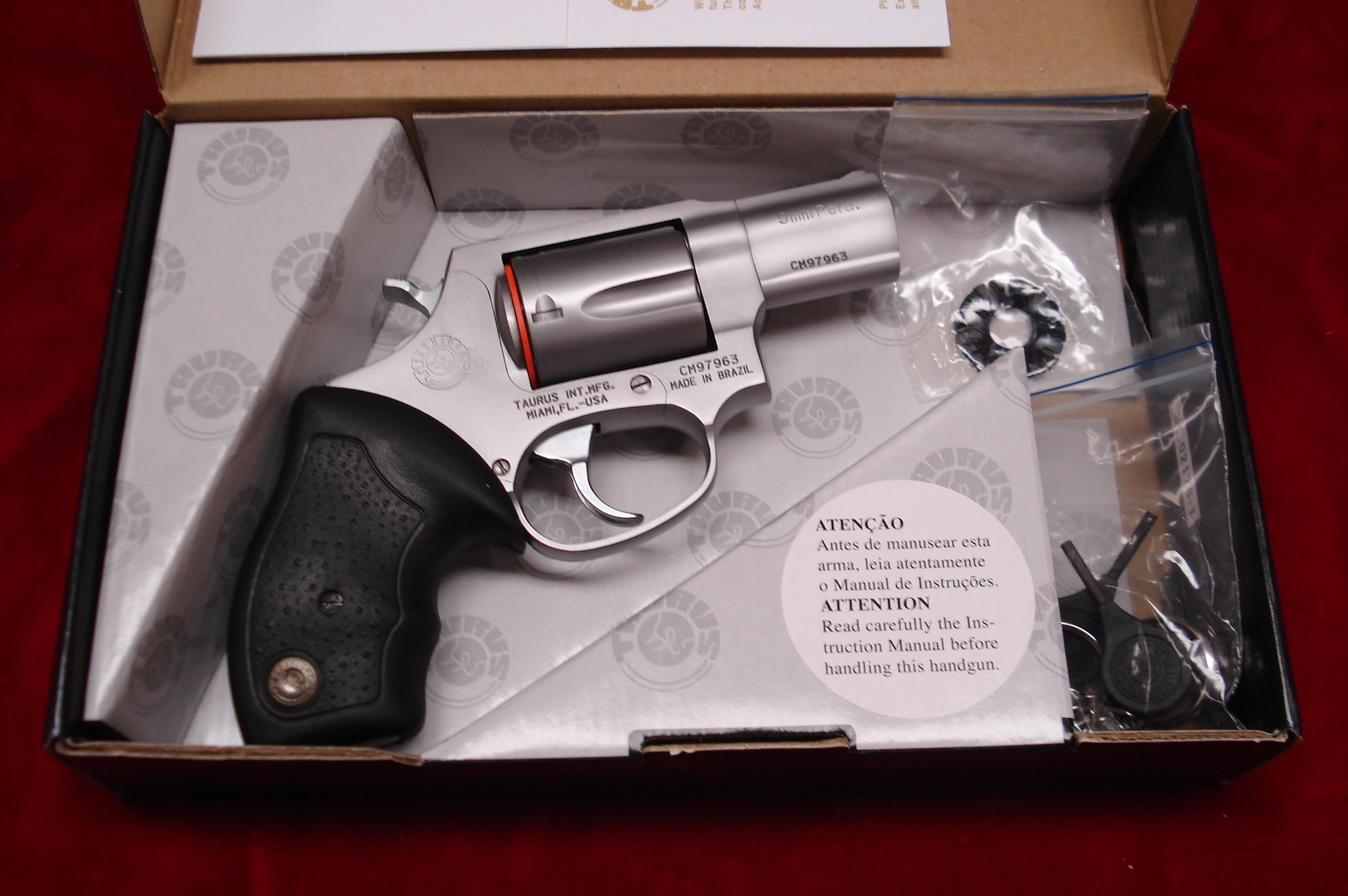 TAURUS MODEL 905 STAINLESS 9MM NEW   Guns > Pistols > Taurus Pistols/Revolvers > Revolvers