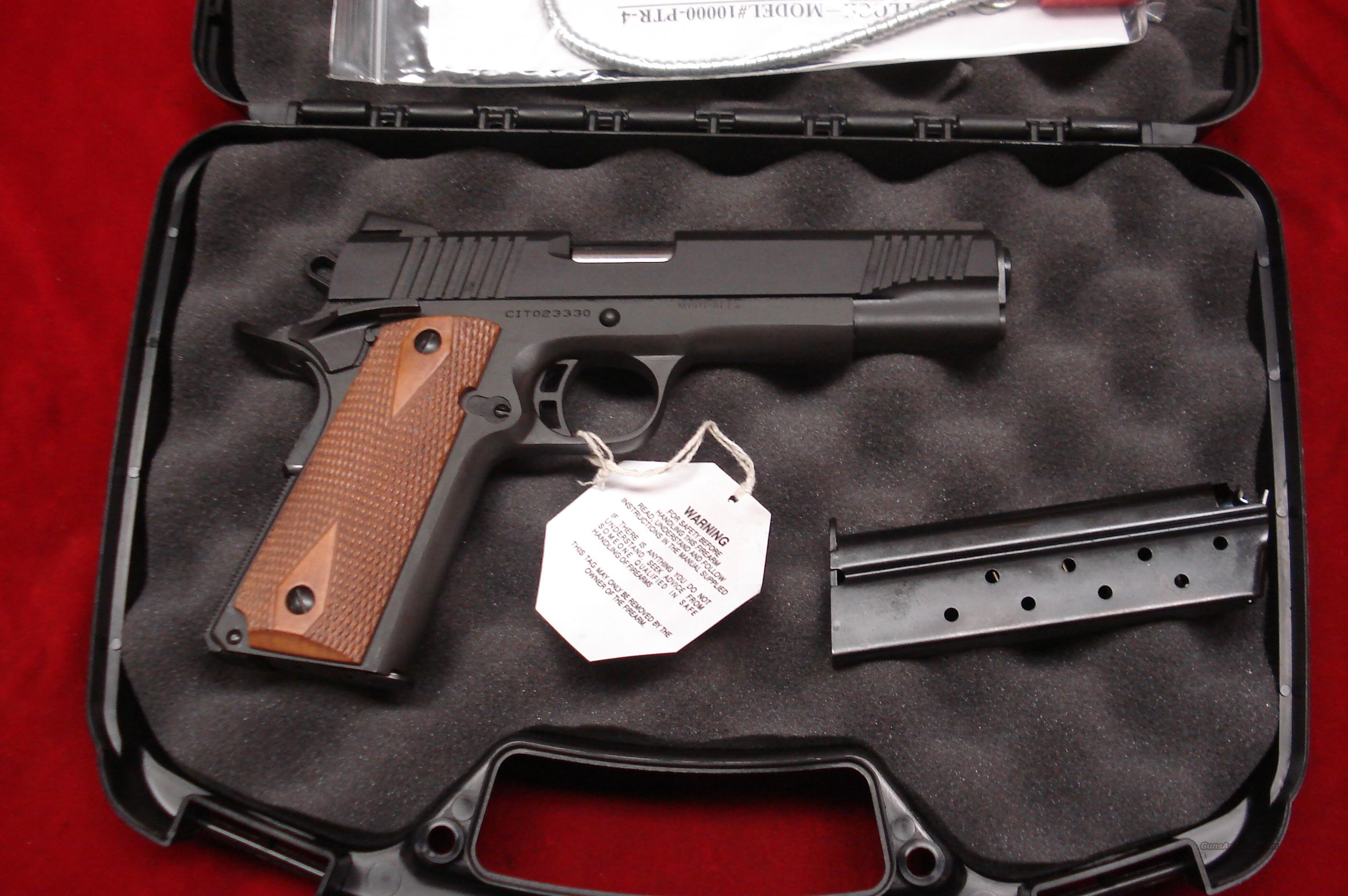 ARMSCOR PRECISION CITADEL TACTICAL 9MM PARKERIZED NEW  Guns > Pistols > 1911 Pistol Copies (non-Colt)