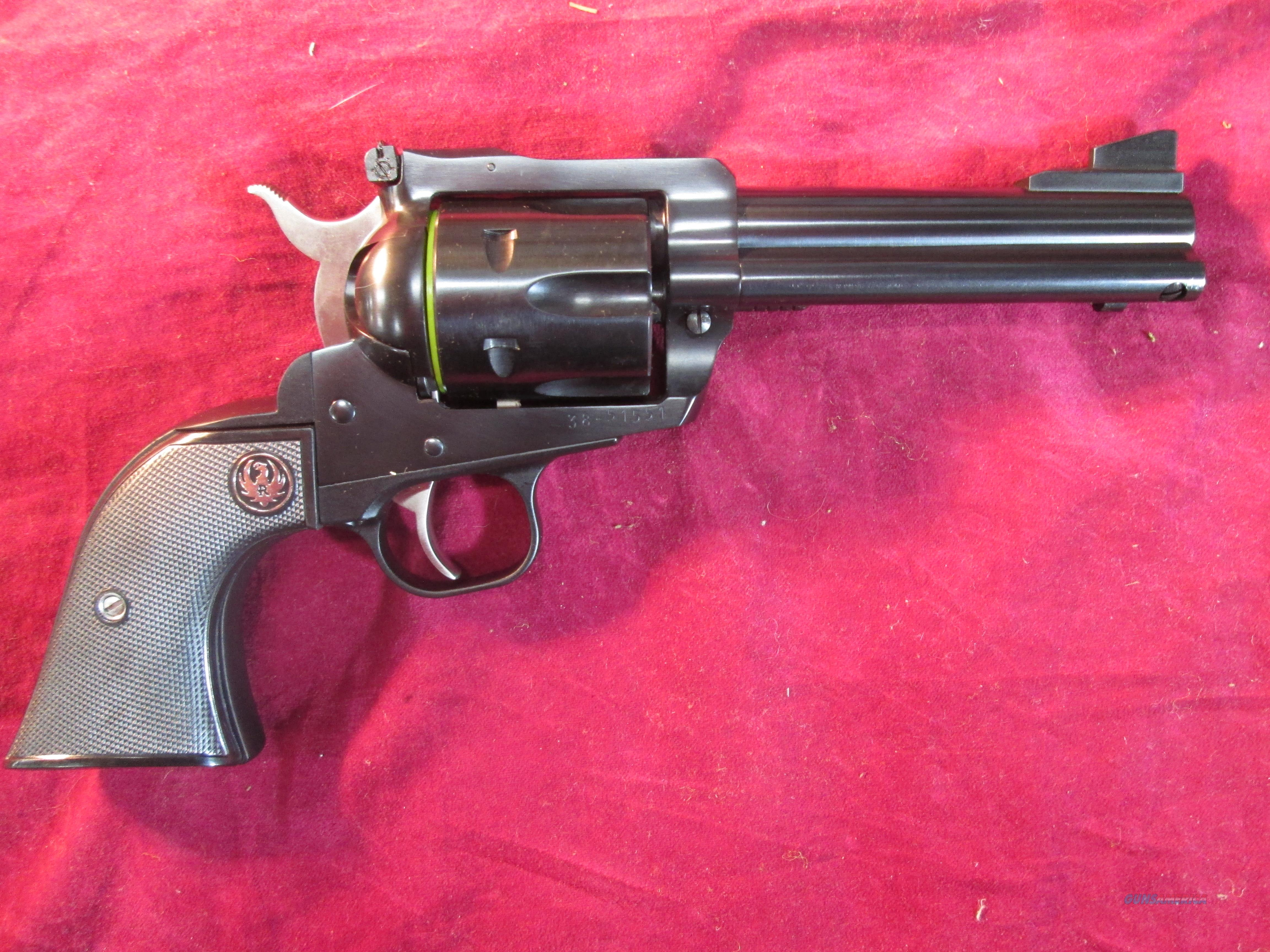 "RUGER BLACKHAWK 45 COLT 4 5/8"" BARREL BLUE NEW (00445)  Guns > Pistols > Ruger Single Action Revolvers > Blackhawk Type"