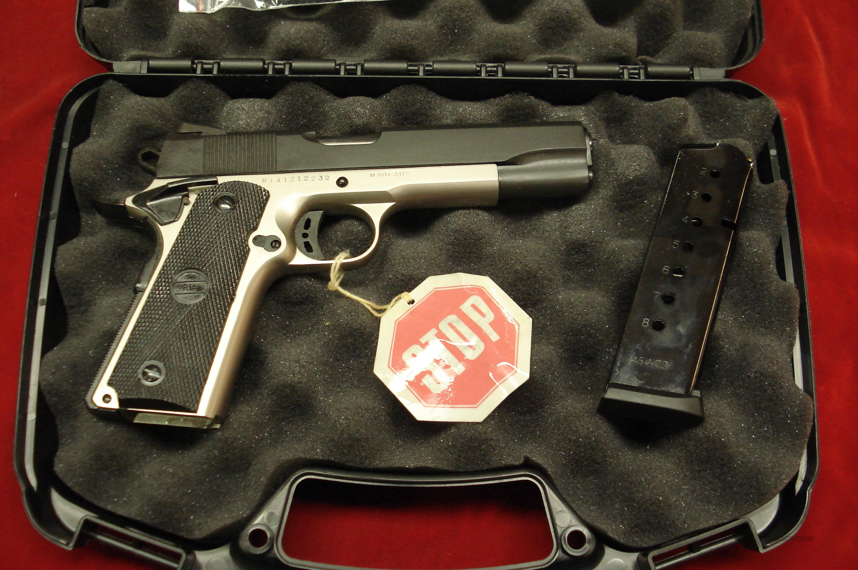 ROCK ISLAND ARMORY 1911-A1 FS TACTICAL DUO-TONE NEW  Guns > Pistols > 1911 Pistol Copies (non-Colt)