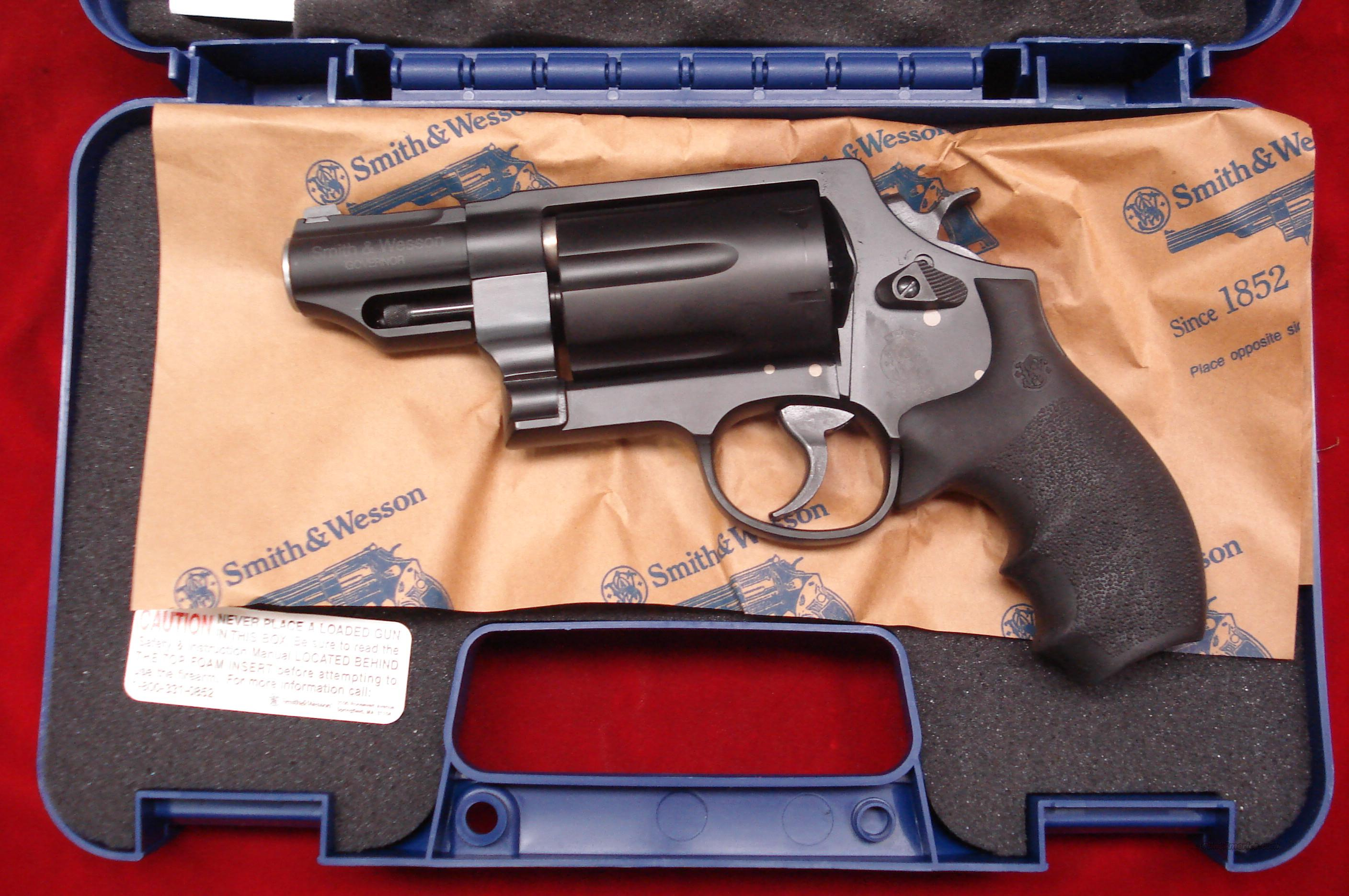 SMITH AND WESSON GOVERNOR 45COLT/45ACP/410G REVOLVER NEW  Guns > Pistols > Smith & Wesson Revolvers > Full Frame Revolver