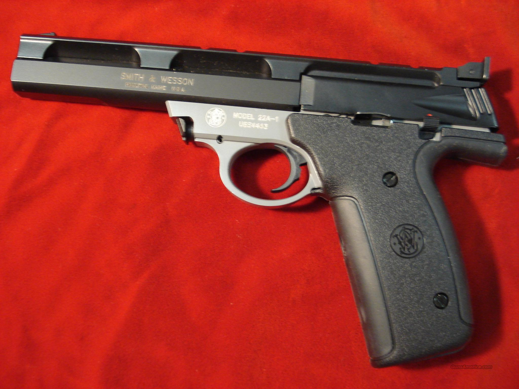 SMITH AND WESSON 22A 22LR. TWO TONE   Guns > Pistols > Smith & Wesson Pistols - Autos > .22 Autos
