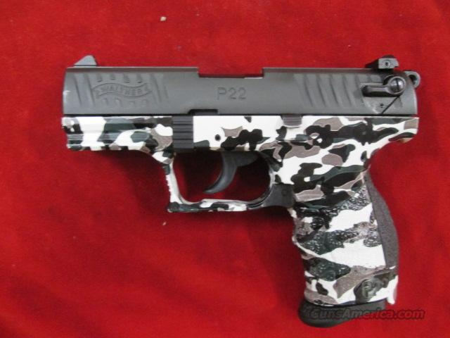 "WALTHER P22 3.42"" URBAN CAMO USED  Guns > Pistols > Walther Pistols > Post WWII > P22"
