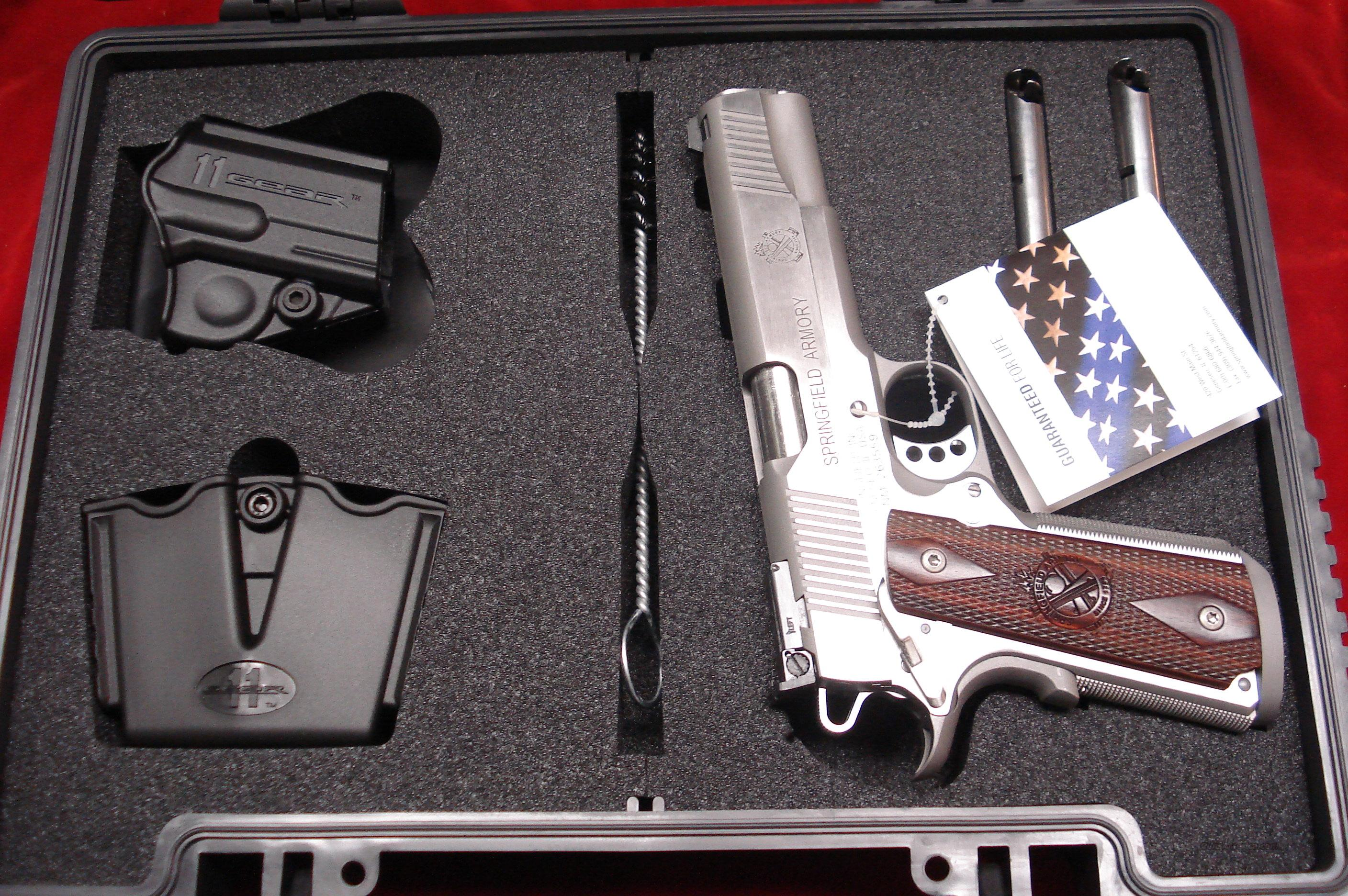 SPRINGFIELD ARMORY TROPHY MATCH STAINLESS 45ACP (PI9140LP) NEW  Guns > Pistols > Springfield Armory Pistols > 1911 Type