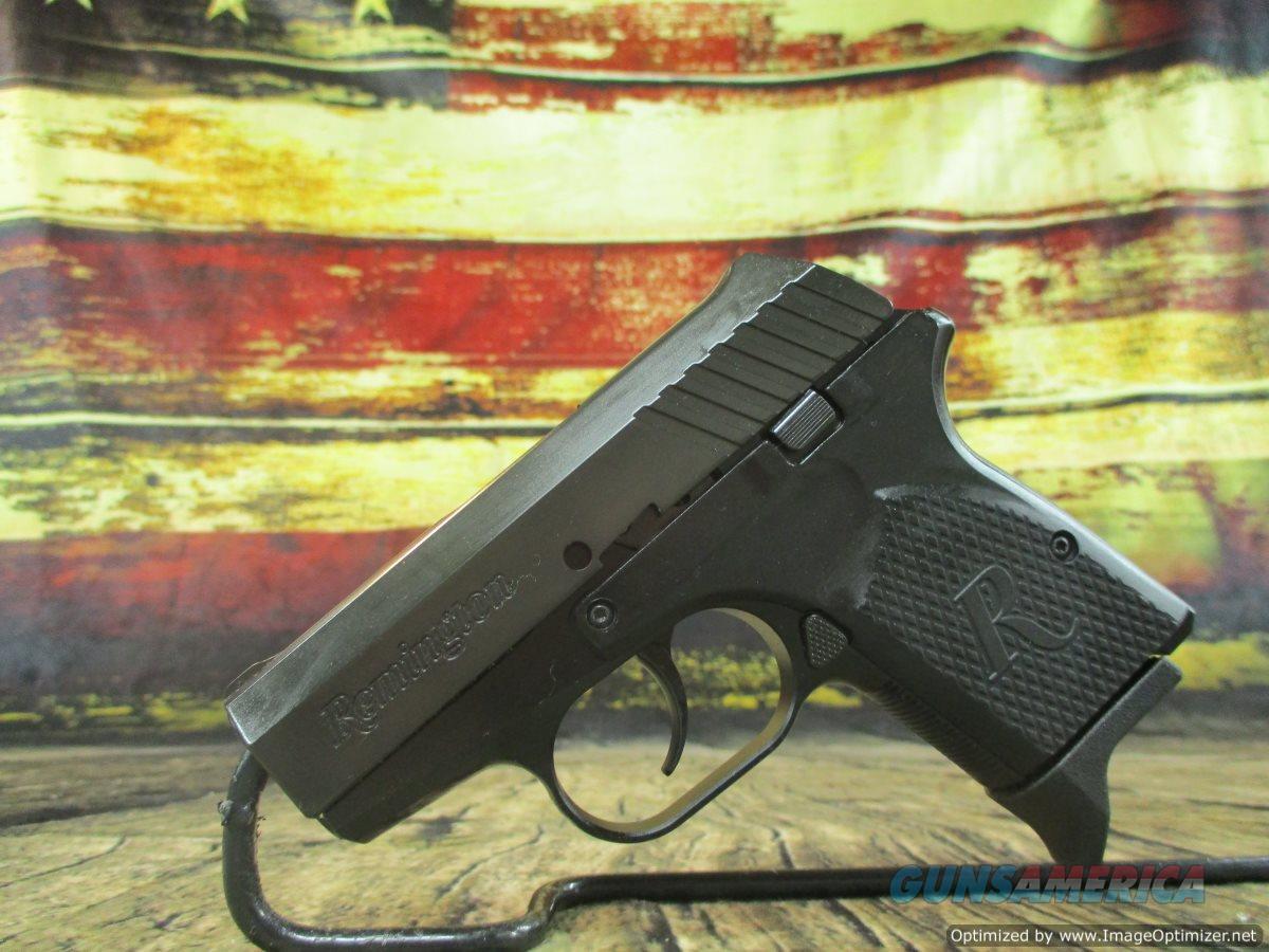 Remington RM380 Micro 380 ACP Black New (96454)  Guns > Pistols > Remington Pistols - Modern > RM380