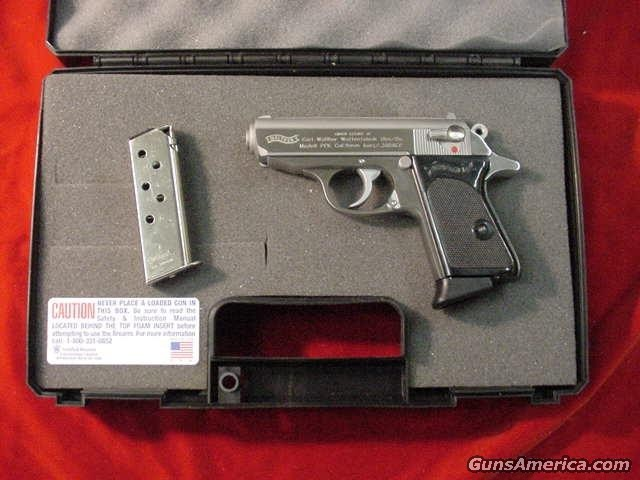 WALTHER PPK  STAINLESS 380 CAL. NEW ( POST RECALL )  Guns > Pistols > Walther Pistols > Post WWII > PP Series