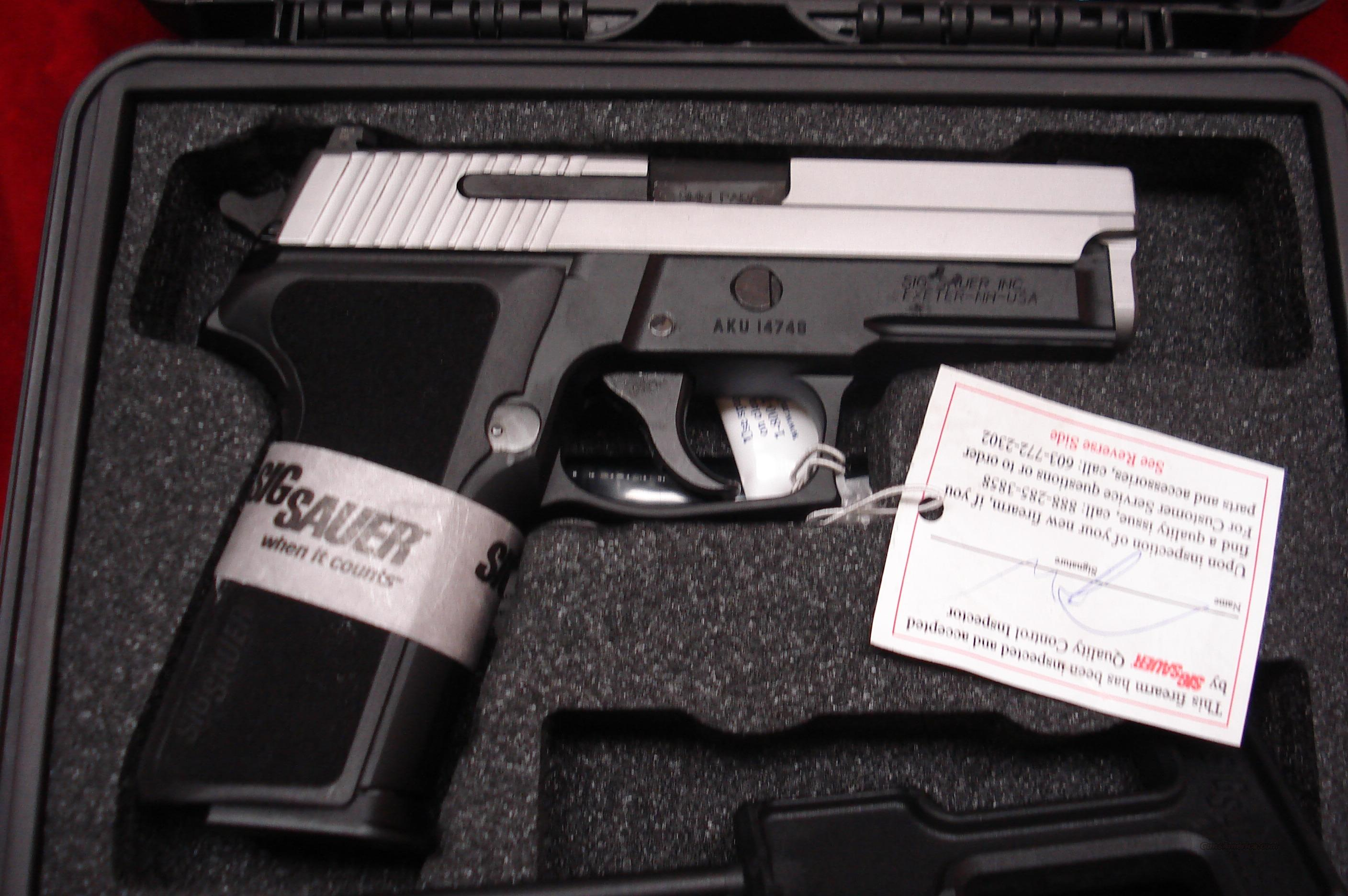 SIG SAUER P229 DUO-TONE 9MM WITH NIGHT SIGHTS NEW   Guns > Pistols > Sig - Sauer/Sigarms Pistols > P229