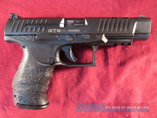 "WALTHER PPQ M2 5"" BARREL 9MM USED  Guns > Pistols > Walther Pistols > Post WWII > P99/PPQ"