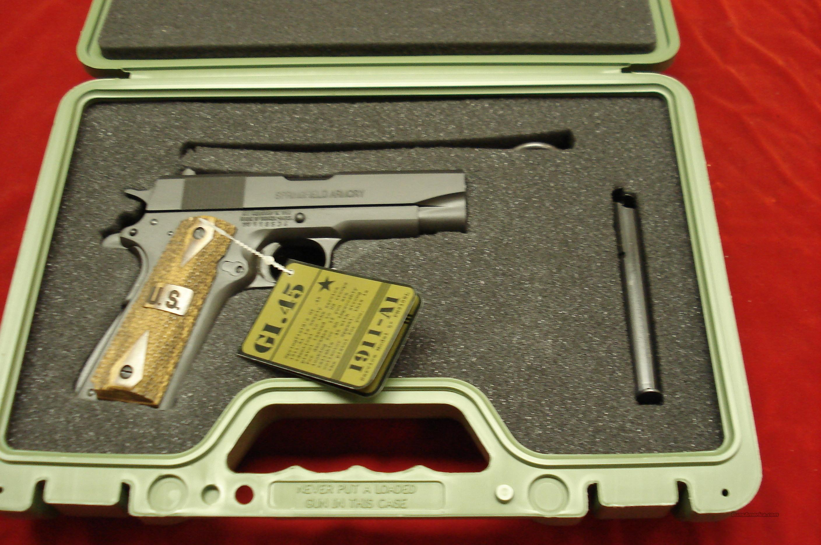 SPRINGFIELD ARMORY  GI CHAMPION PACKAGE (PW9142LP) NEW  Guns > Pistols > Springfield Armory Pistols > 1911 Type