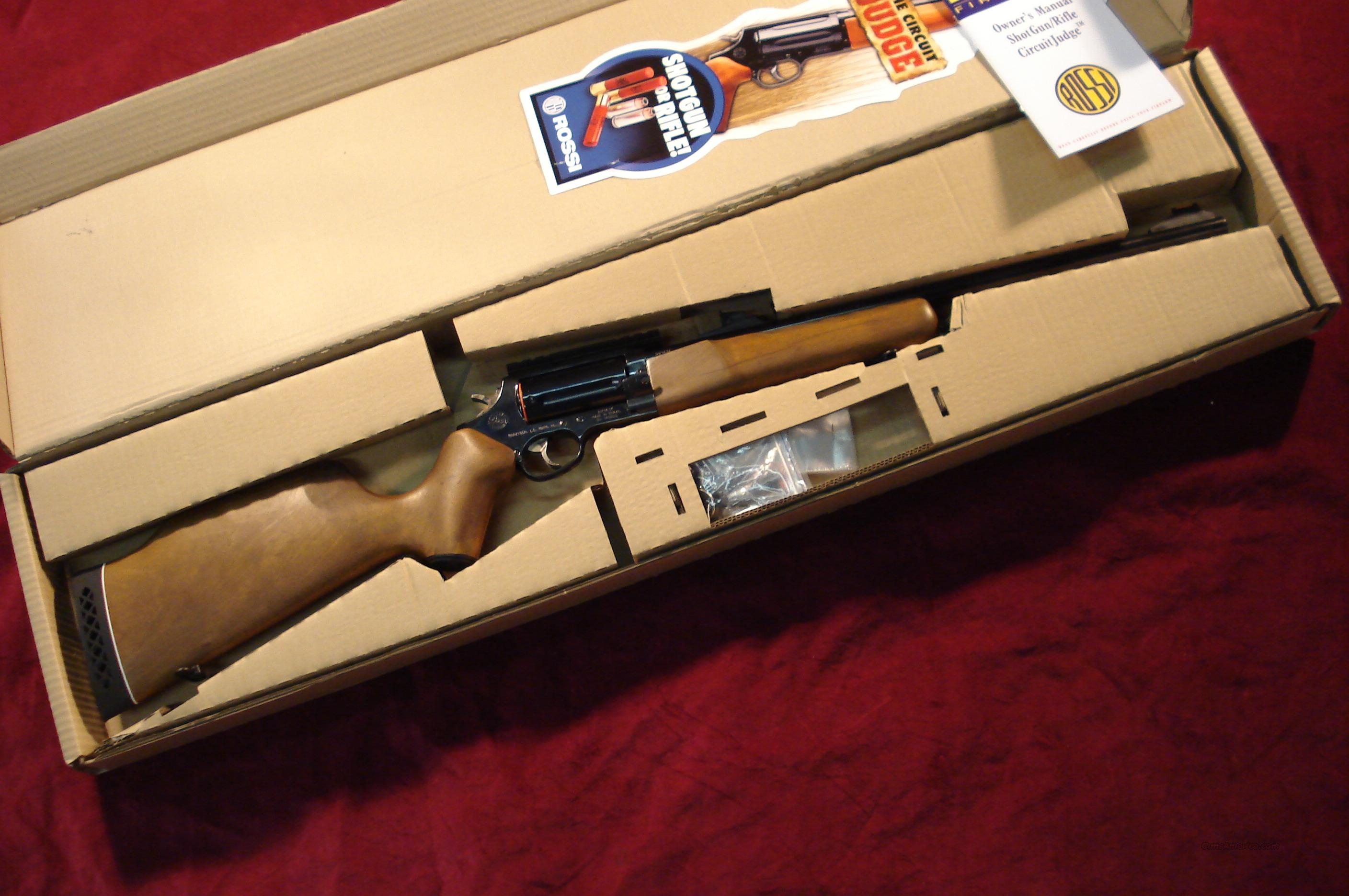 ROSSI CIRCUIT JUDGE 45COLT/410G NEW  Guns > Rifles > Rossi Rifles > Other