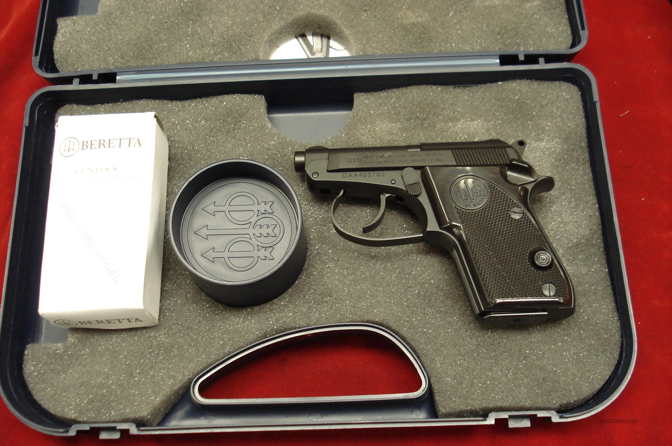 BERETTA 21A BOBCAT .25ACP NEW  Guns > Pistols > Beretta Pistols > Small Caliber Tip Out