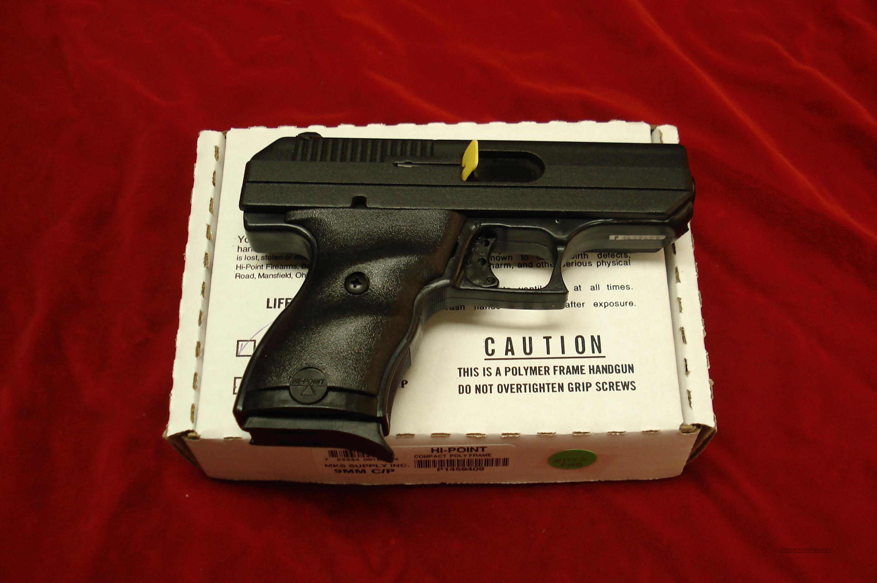 HI-POINT 9MM COMPACT NEW IN THE BOX  Guns > Pistols > Hi Point Pistols