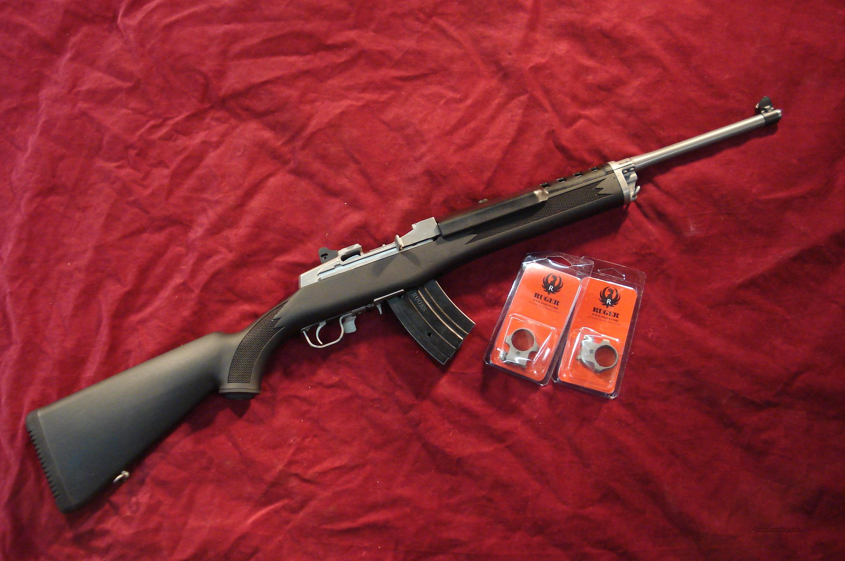 RUGER ALL WEATHER MINI 30 STAINLESS RANCH 7.62X39 CAL. NEW  Guns > Rifles > Ruger Rifles > Mini-14 Type