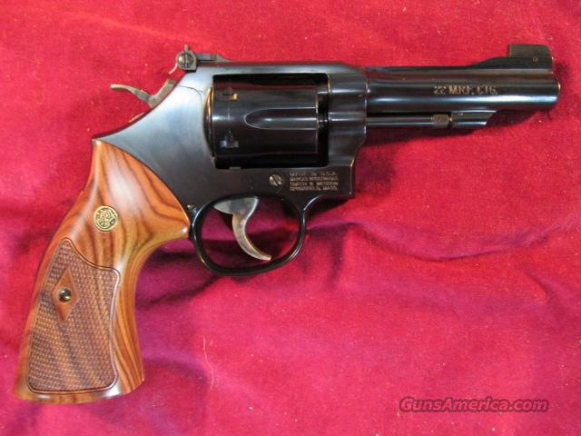 "SMITH AND WESSON 4"" CLASSIC MODEL 48,  22MAG BLUE FINISH NEW  Guns > Pistols > Smith & Wesson Revolvers > Full Frame Revolver"