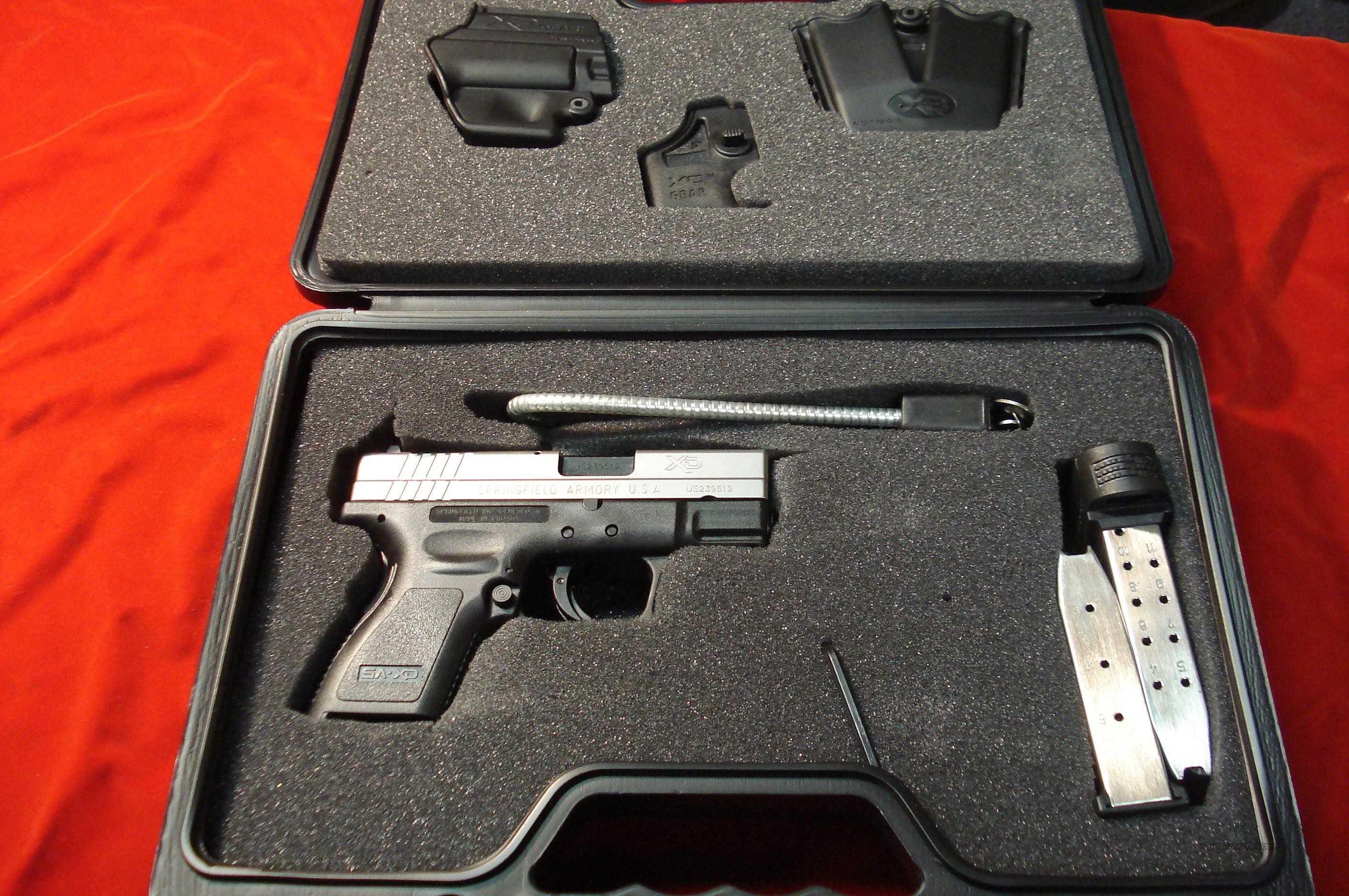 SPRINGFIELD ARMORY XD 40 BI-TONE SUB COMPACT PACKAGE  NEW  Guns > Pistols > Springfield Armory Pistols > XD (eXtreme Duty)