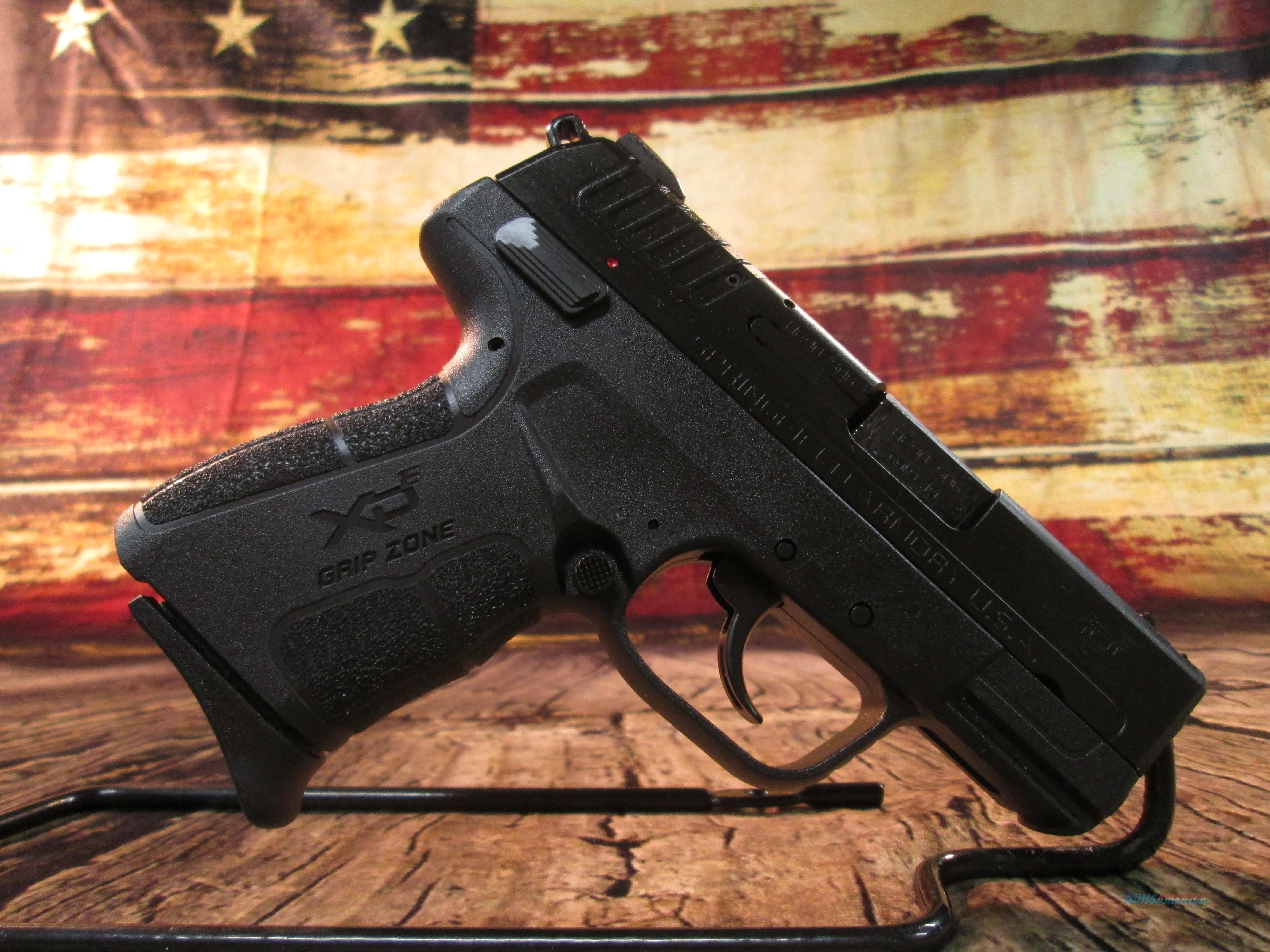 SPRINGFIELD ARMORY XDE 9MM PISTOL NEW (XDE9339BE)   Guns > Pistols > Springfield Armory Pistols > XD-E